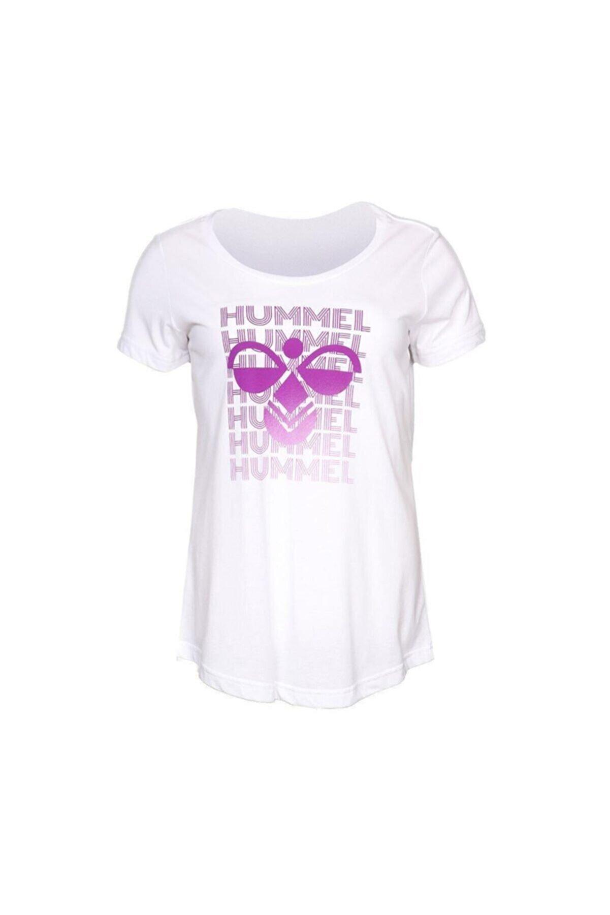 HUMMEL HMLGEGIL T-SHIRT S/S Beyaz Kadın T-Shirt 100580712