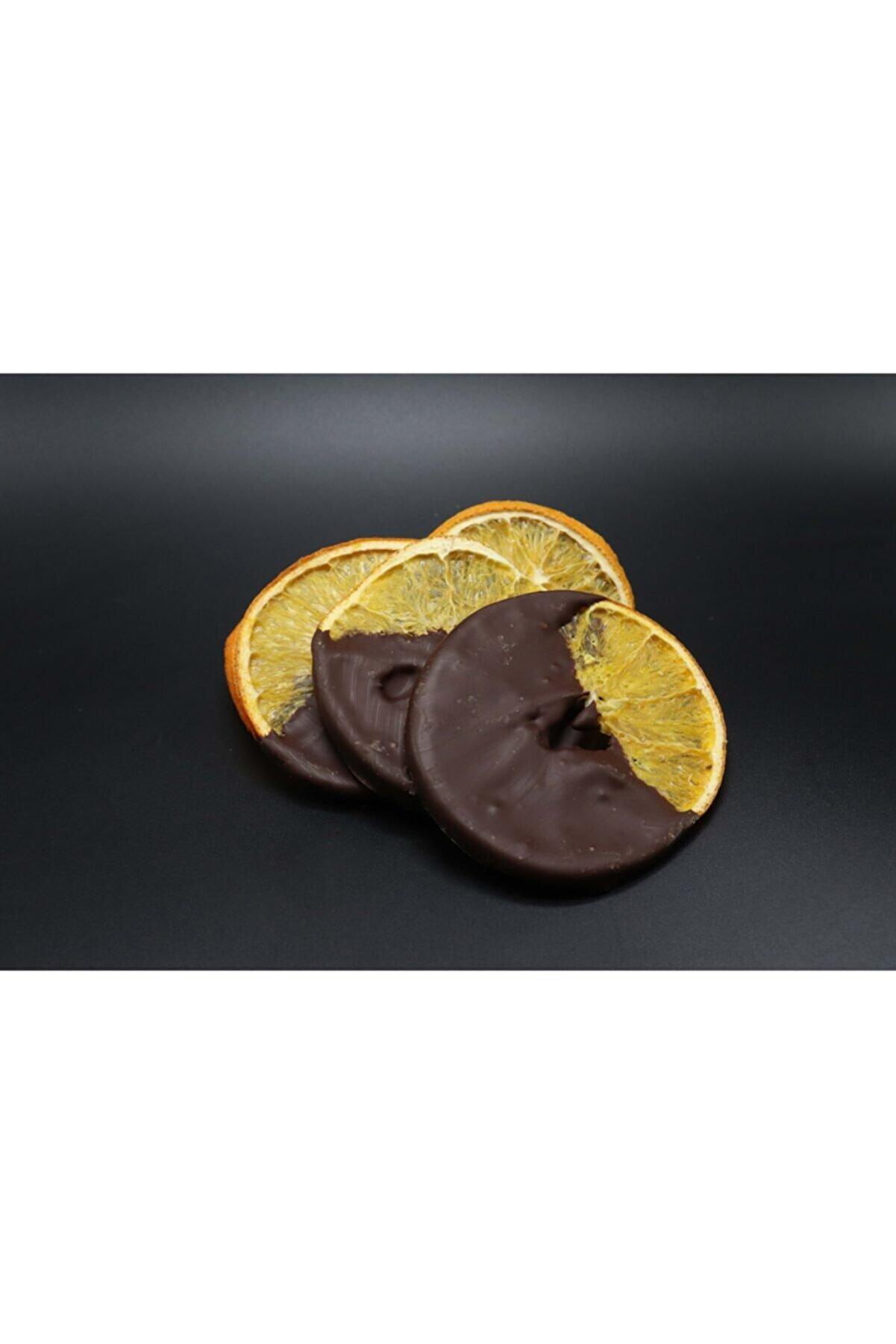 Nuri Bey Çiftliği Belçika Çikolatalı Kurutulmuş Portakal (100g)