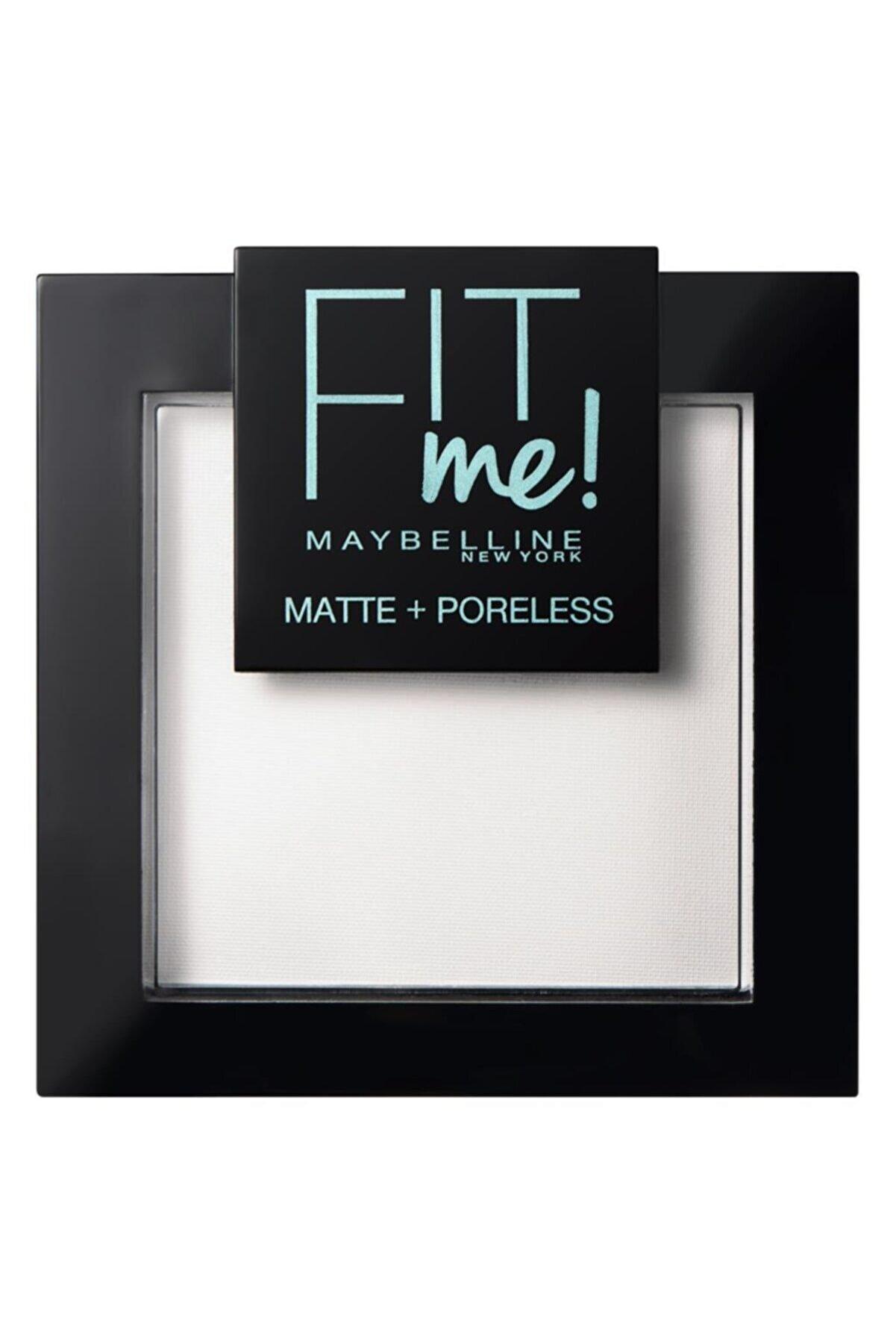Maybelline New York Fit Me Matte+poreless Pudra - 90 Translucent (Transparan)