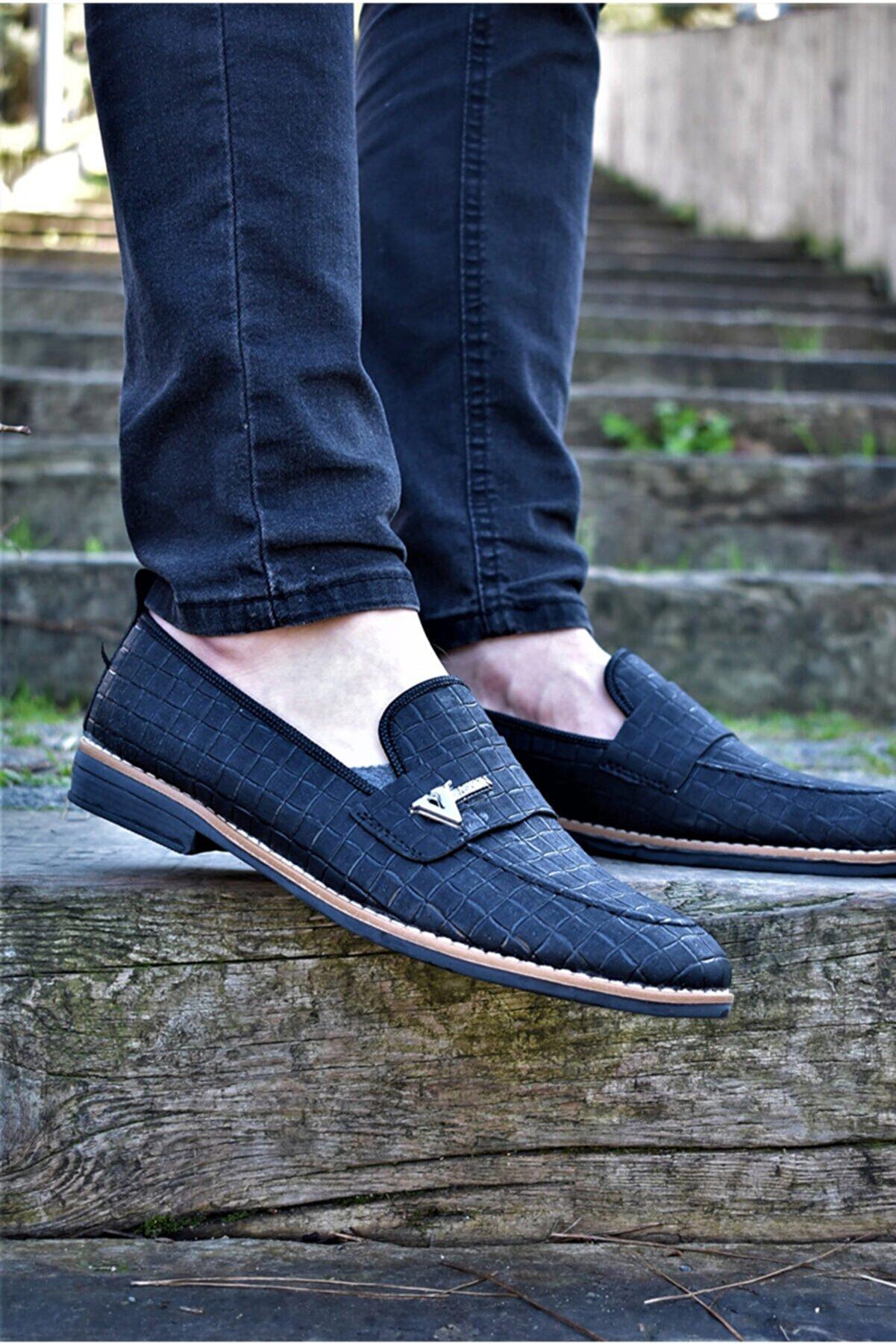 ALBİDÜNYA Erkek Siyah Günlük Ayakkabı