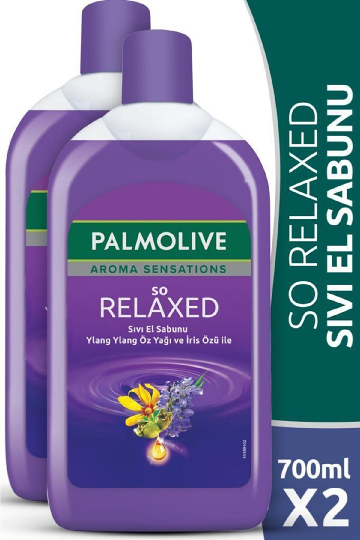 Palmolive Aroma Sensations So Relaxed Ylang Ylang Öz Yağı Ve Iris Özü Ile Sıvı El Sabunu 2 X 700 ml