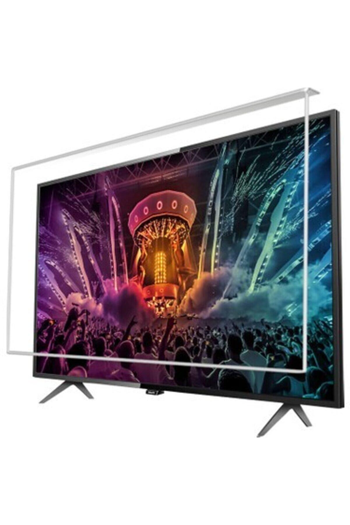 Philips Phılıps 65pus7805 6 Uyumlu  164 cm 4k Tv Ekran Koruyucu