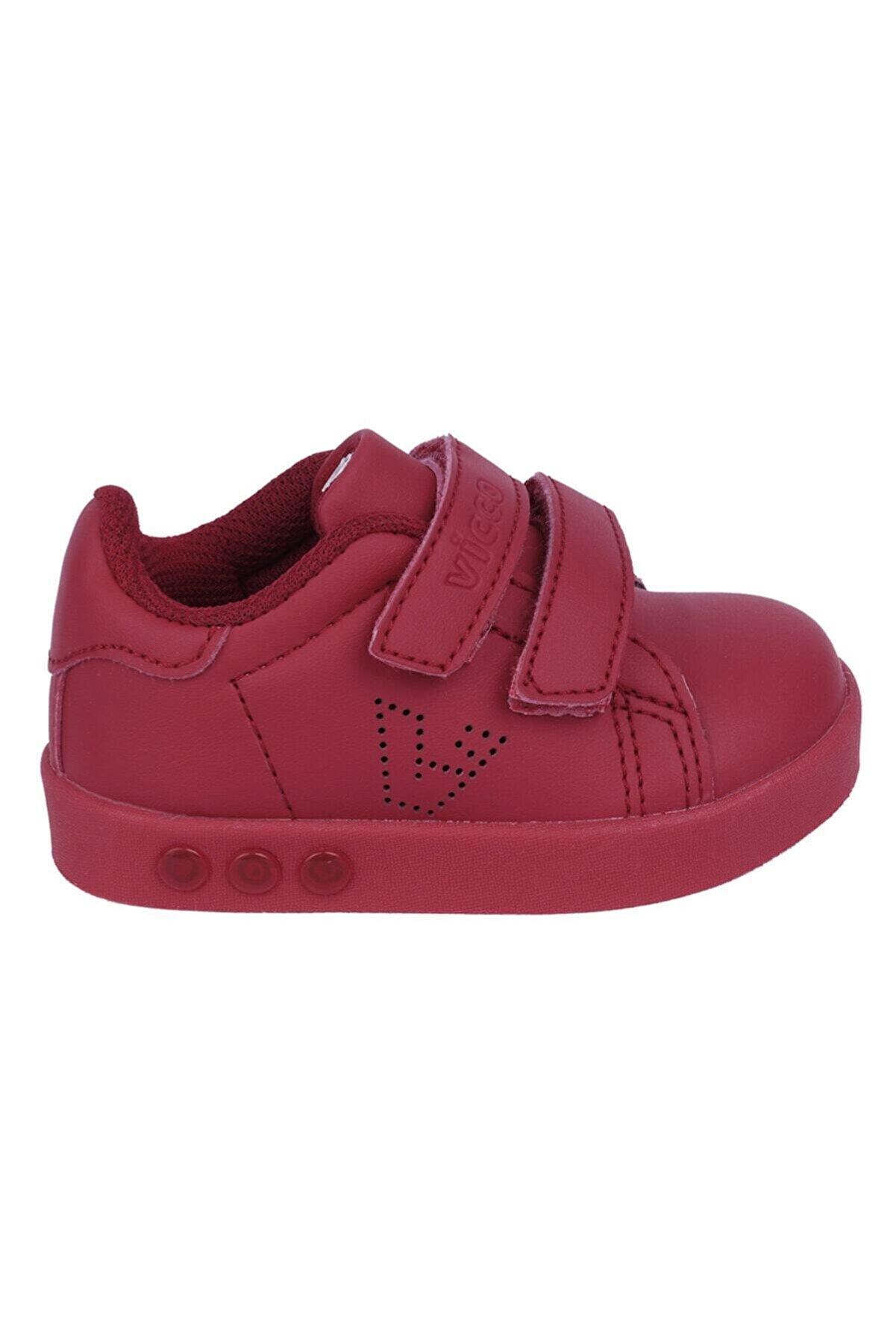 Vicco Unısex Çocuk Kırmızı Spor Ayakkabı 313.p19k.100