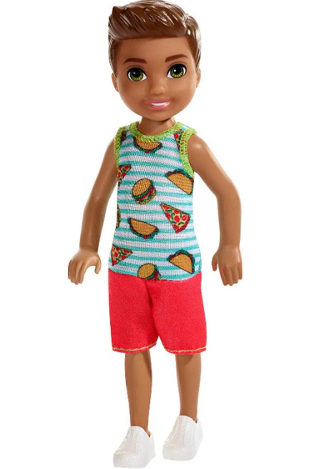 Barbie Aksesuarlı Chelsea Bebekler Hamburger Tişörtlü