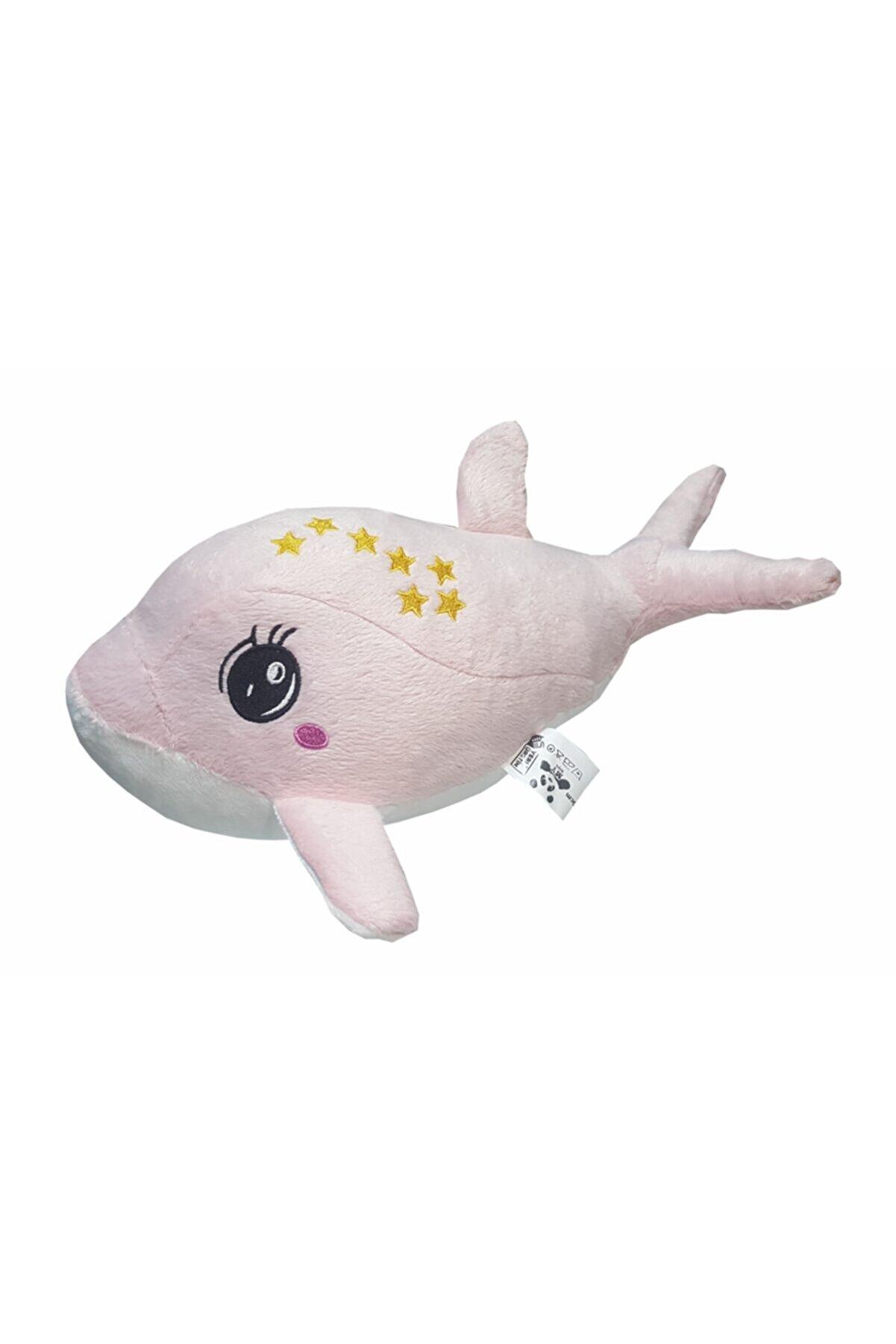 MY toys Uyku Arkadaşım Yumuşak Peluş Yunus Balığı Pembe (35 Cm.)
