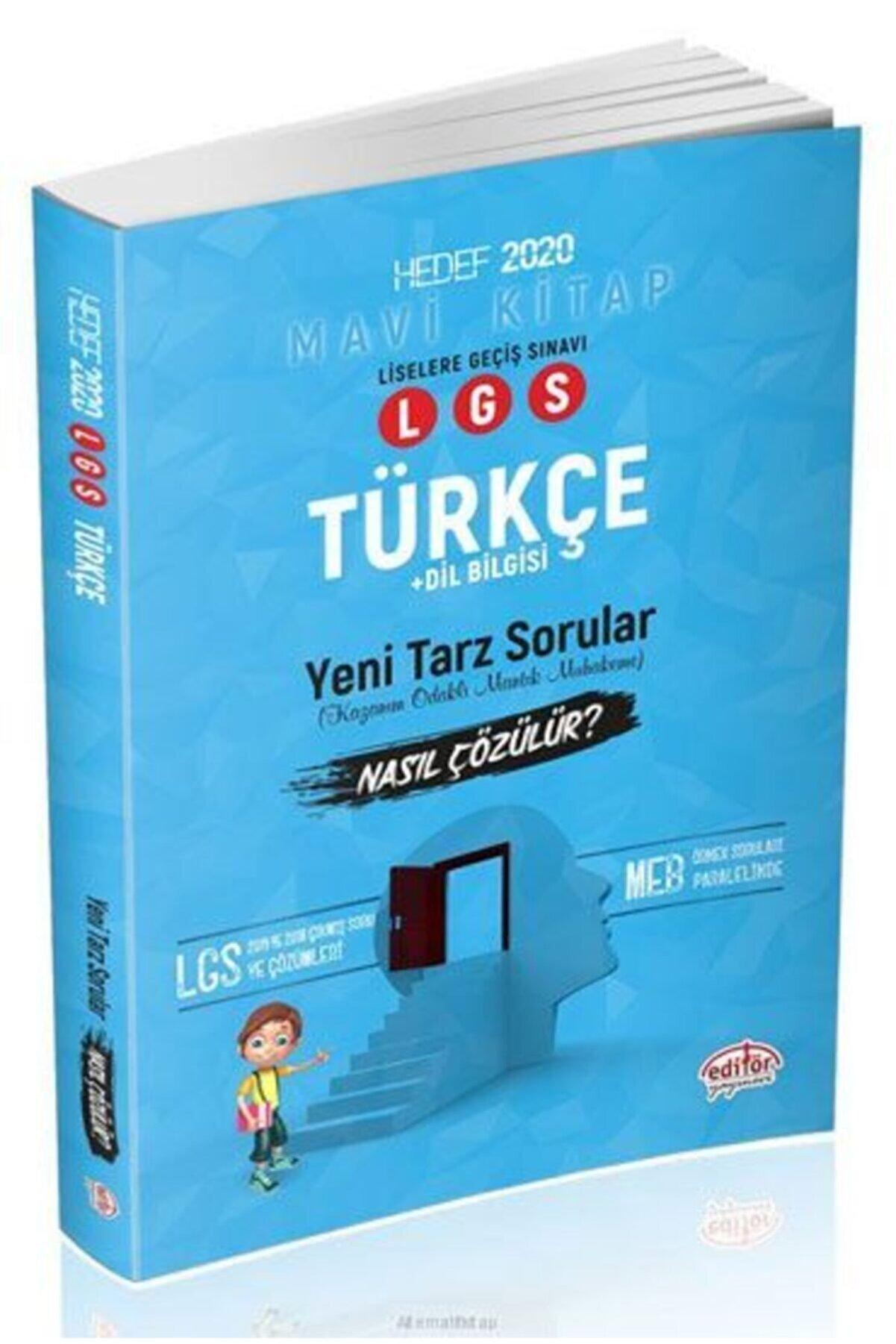 Editör Yayınları Lgs Türkçe Dilbilgisi Mantık Muhakeme Yeni Tarz