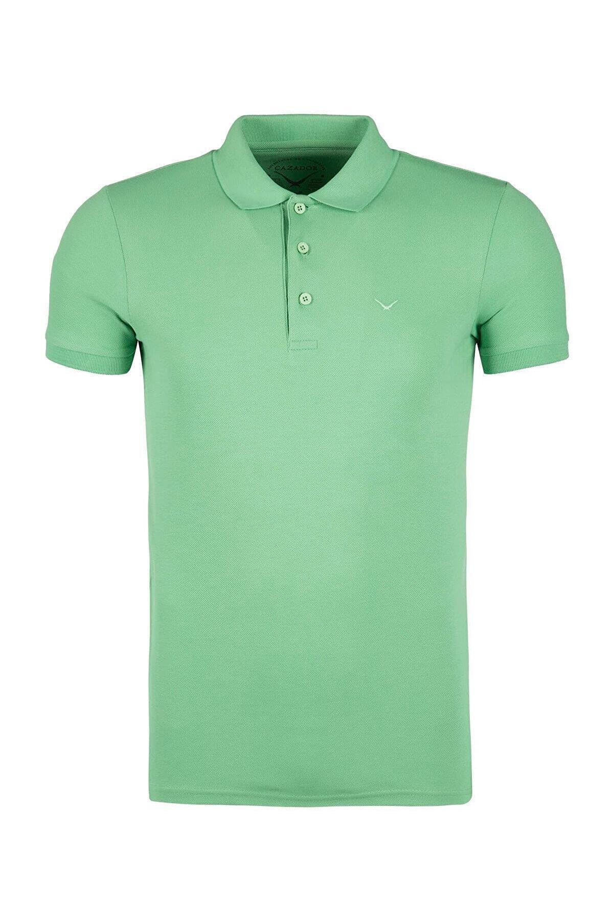 Cazador Erkek Yeşil Tişört 4613-163