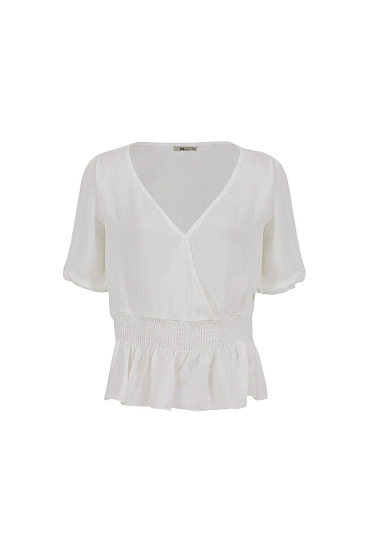 Ltb Beyaz Bluz