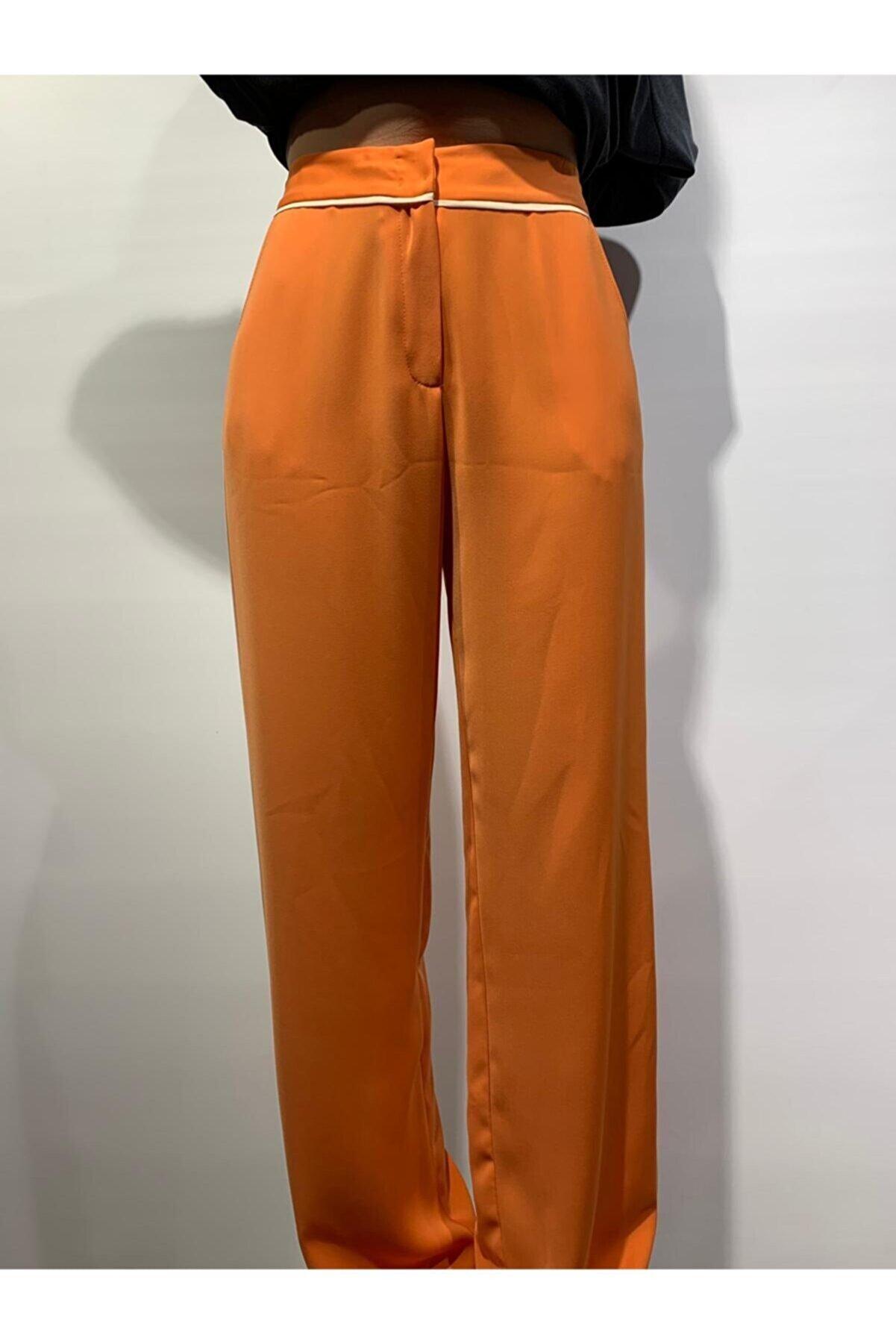 Serpil Biyeli Bol Pantolon