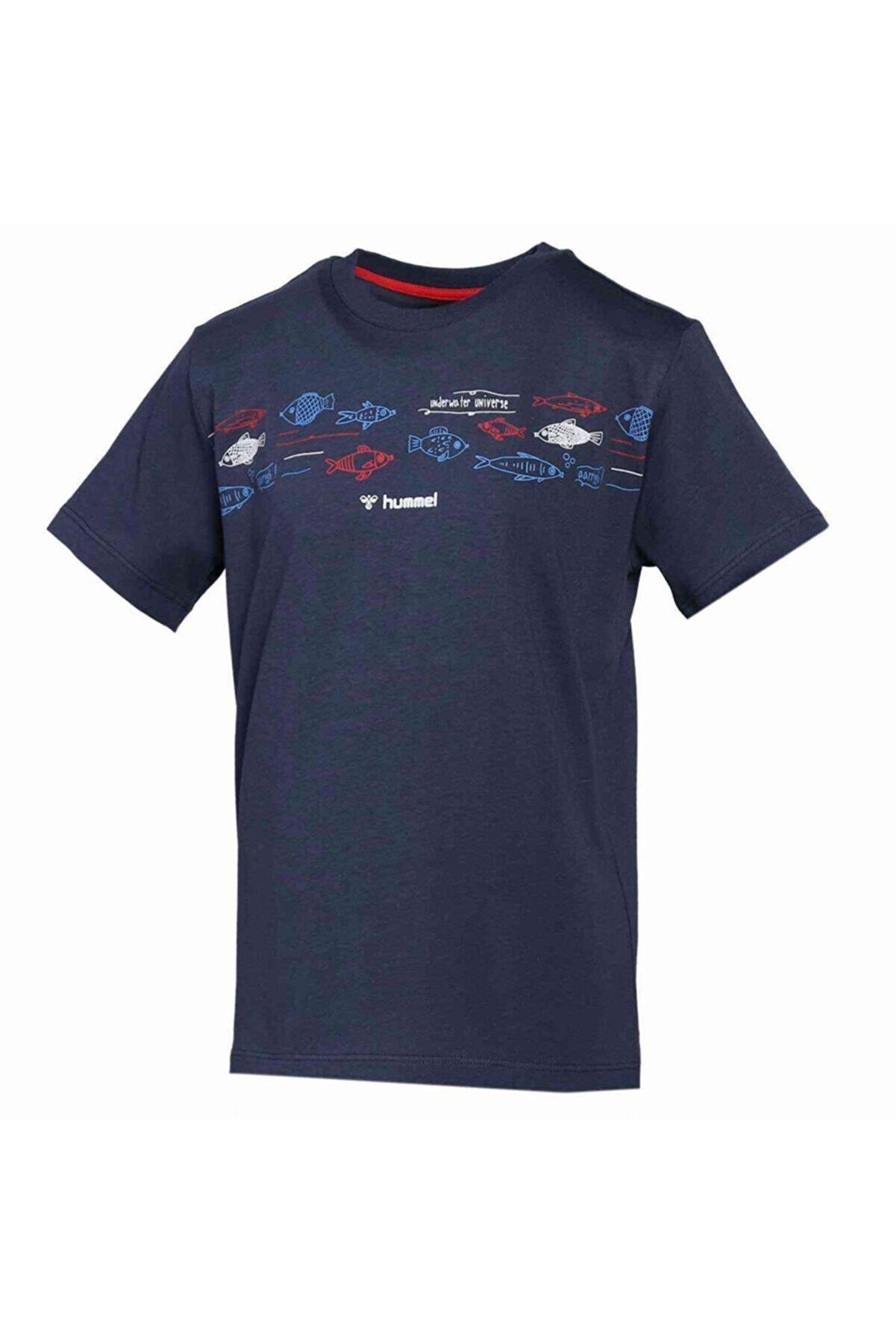 HUMMEL HMLSAILOR Lacivert Erkek T-Shirt 101085925