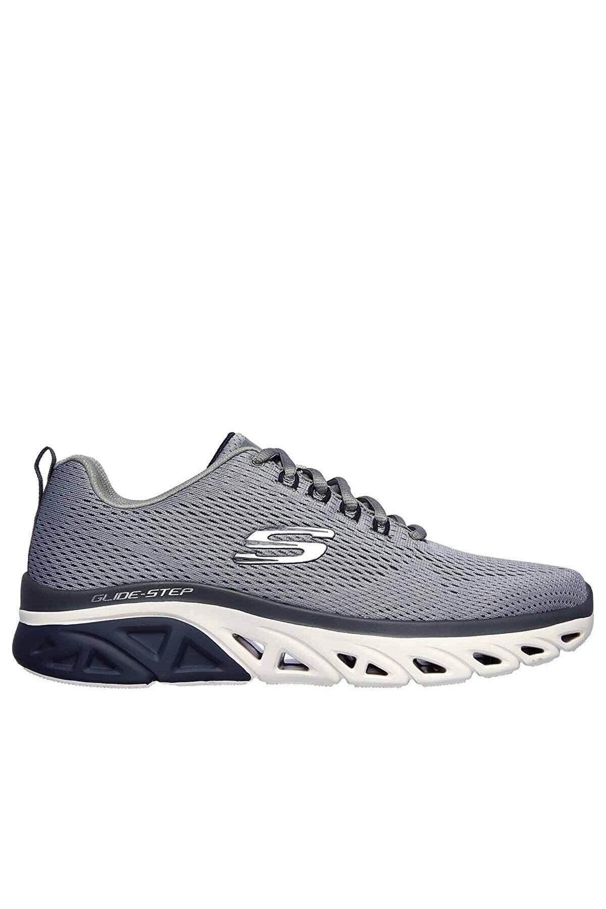 Skechers Glide-step Sport Erkek Günlük Spor Ayakkabı 232168 Gynv Gri