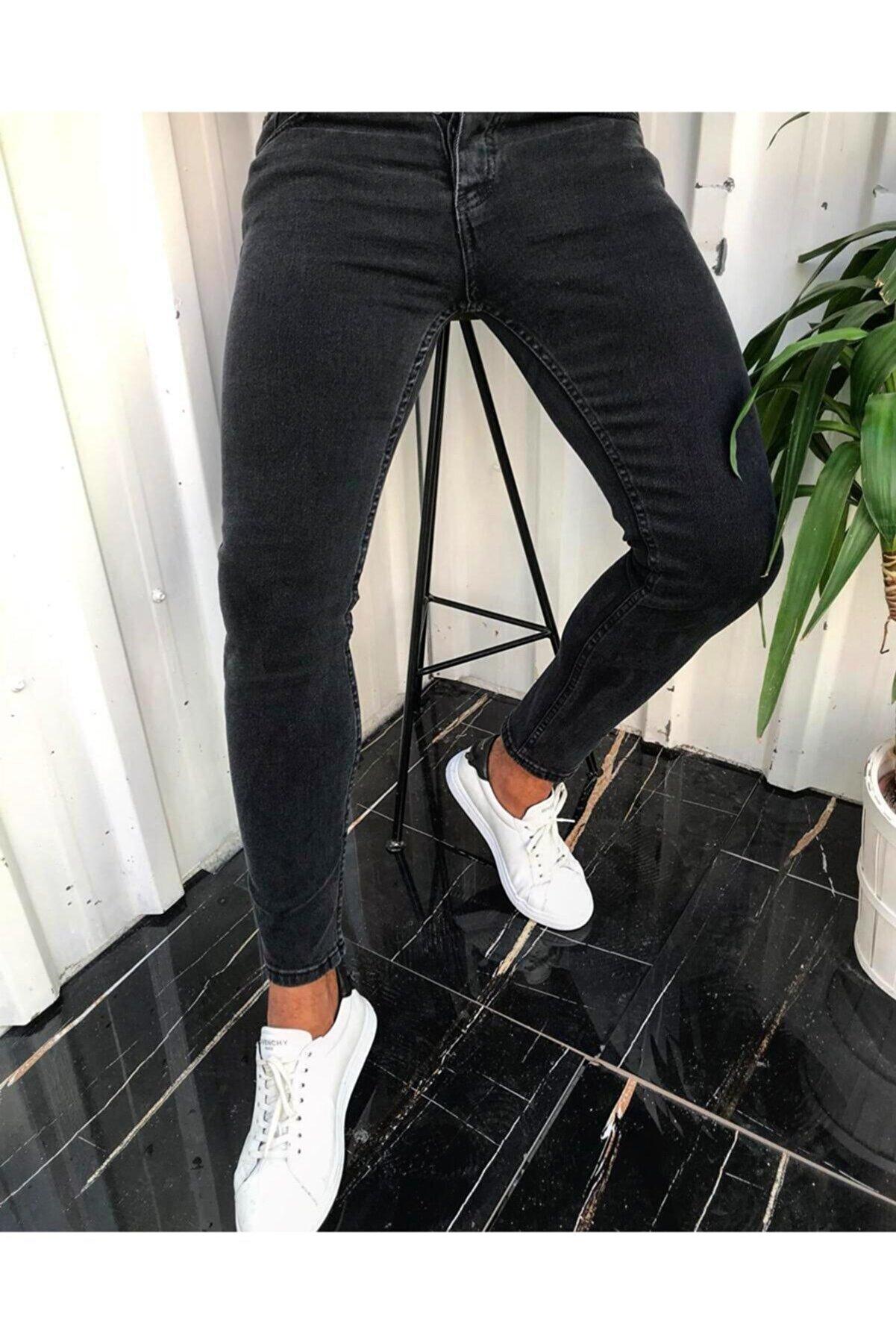 ukdwear Erkek Slim Fit Kot Pantolon