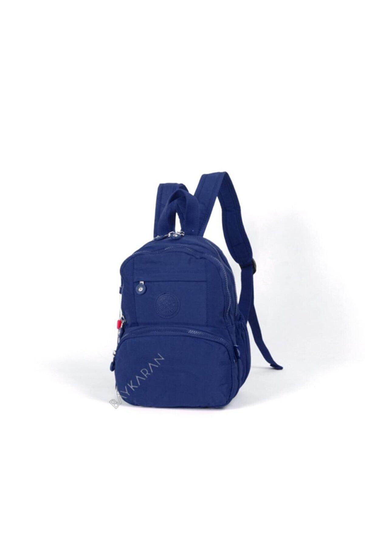 Smart Bags Kadın Lacivert Küçük Boy Sırt Çantası 33 1083