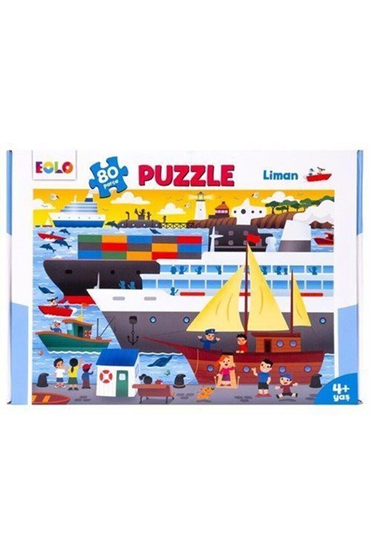eolo yayınları Liman 80 Parça Puzzle