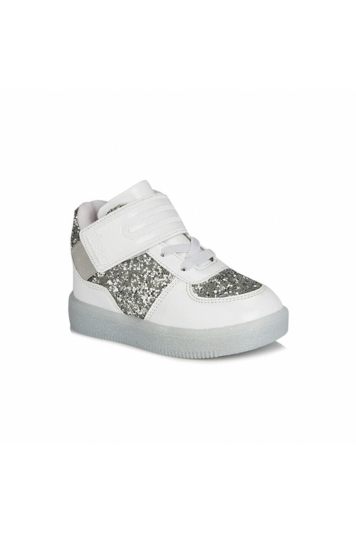 Vicco Kız Bebek Beyaz Işıklı Sneaker
