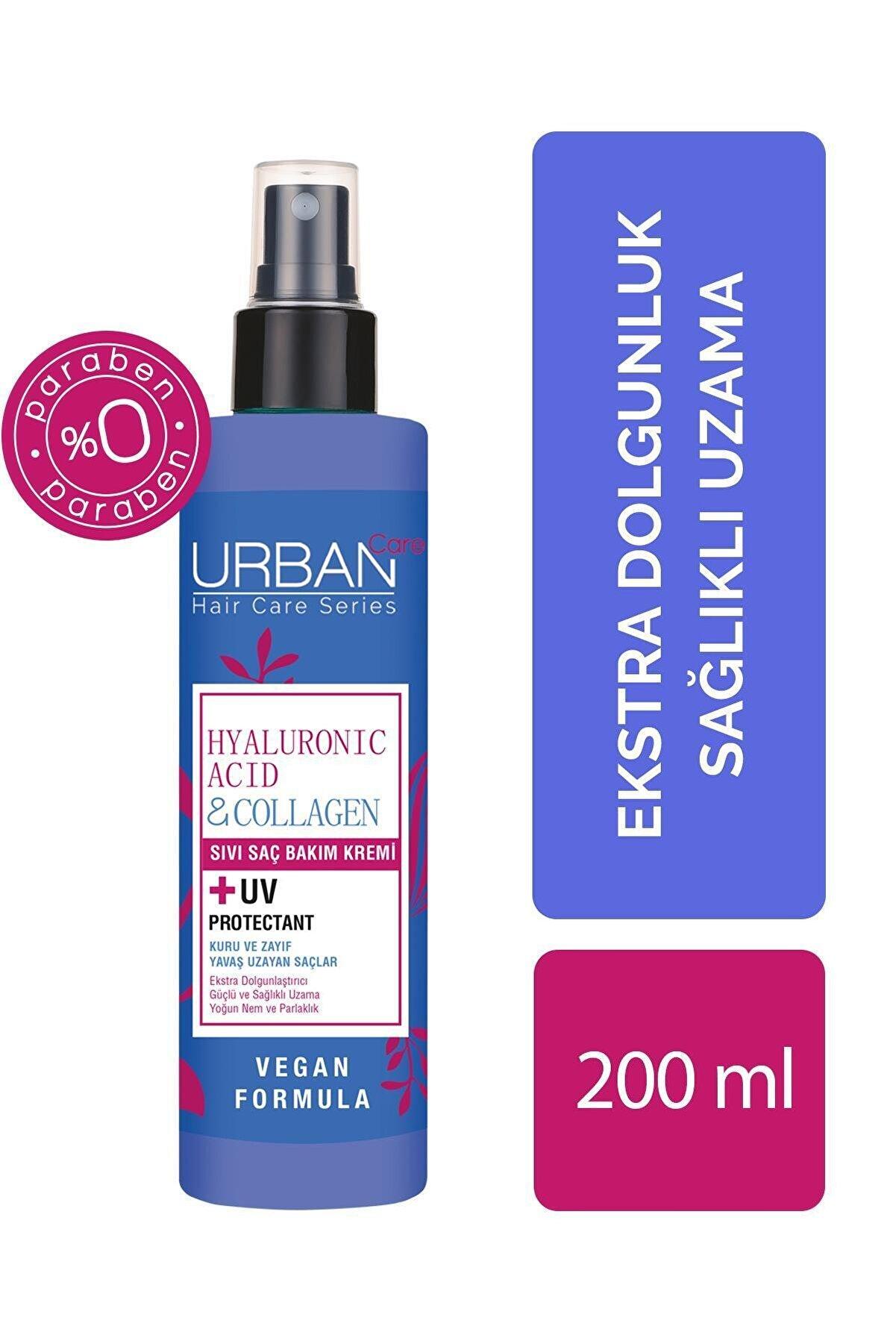 Urban Care Hyaluronic Acid & Collagen Sıvı Saç Bakım Kremi / Hyalüronik Asit Hyalüronik Asit