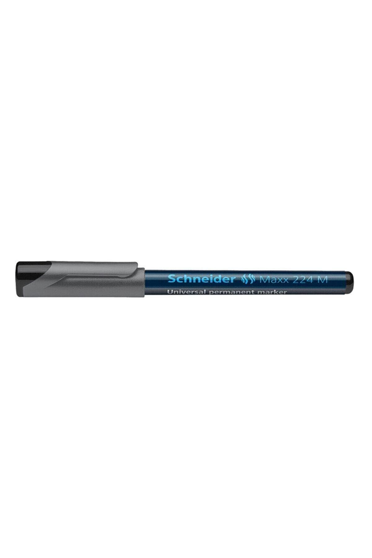 Schneider Maxx 224 M Asetat Kalemi 1,0 Mm Siyah Scp10