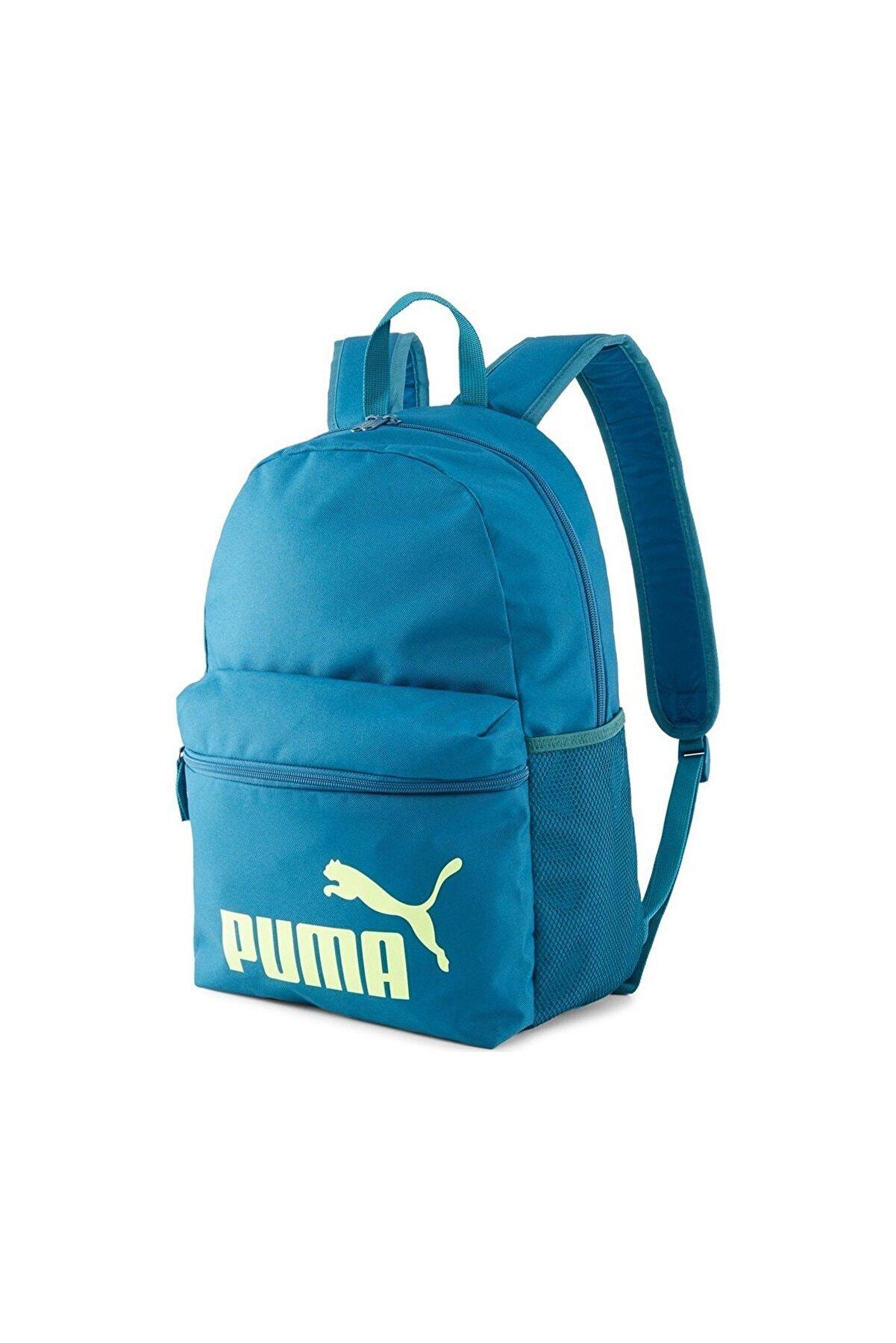 Puma Phase Unisex Mavi Günlük Stil Sırt Çantası 07548746