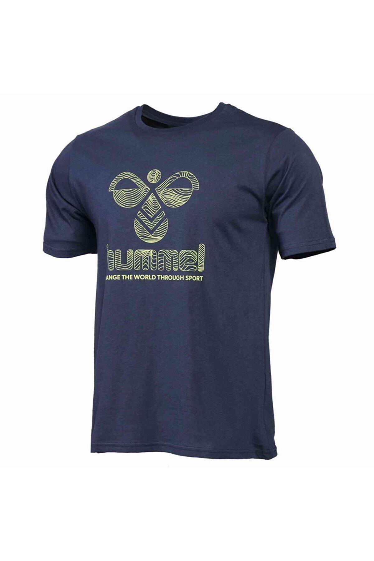 HUMMEL HMLWAVO Lacivert Erkek T-Shirt 101085897