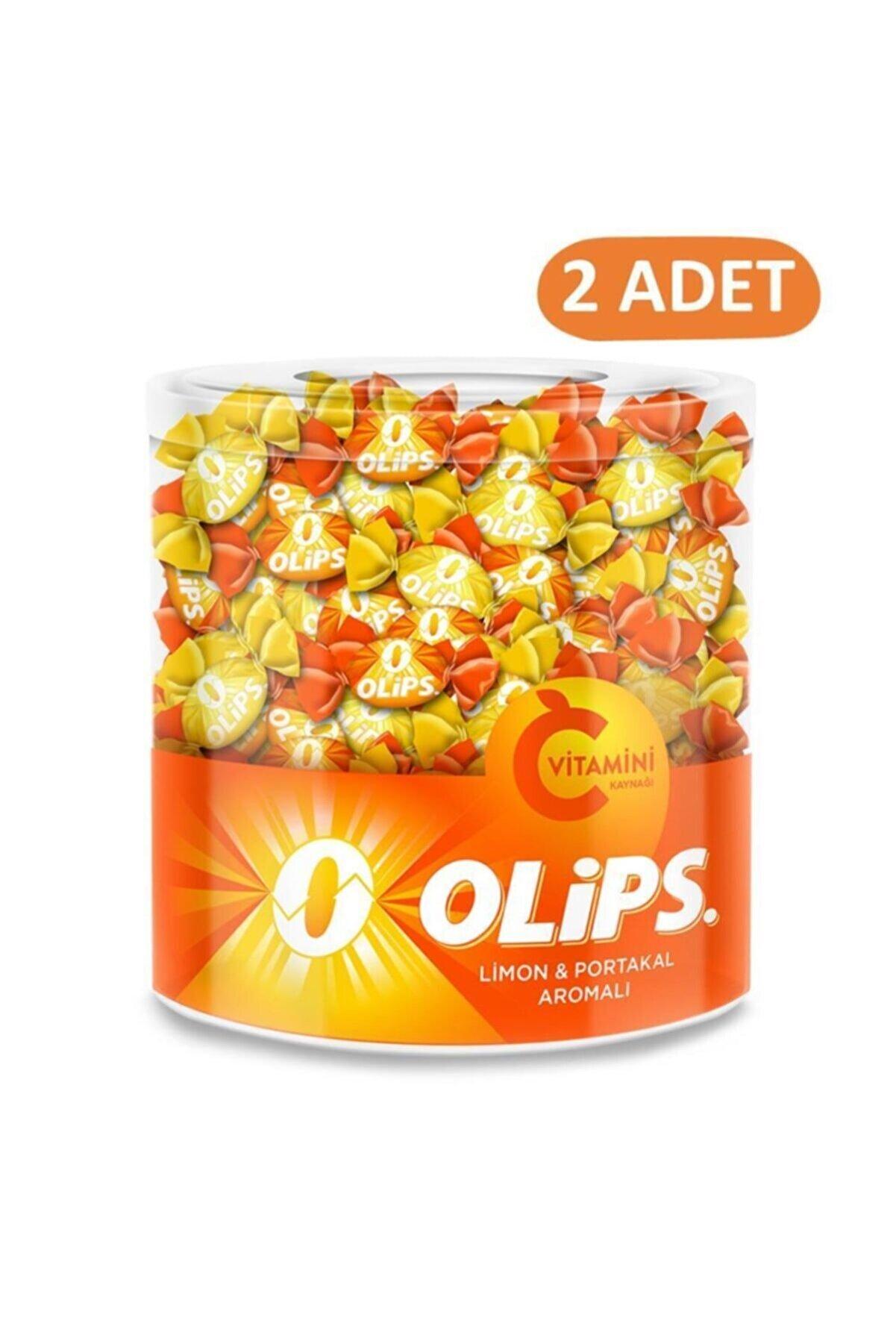 Olips C Vitaminli Limon&portakal Aromalı 462 Gr Kavanoz Şeker - 2 Adet