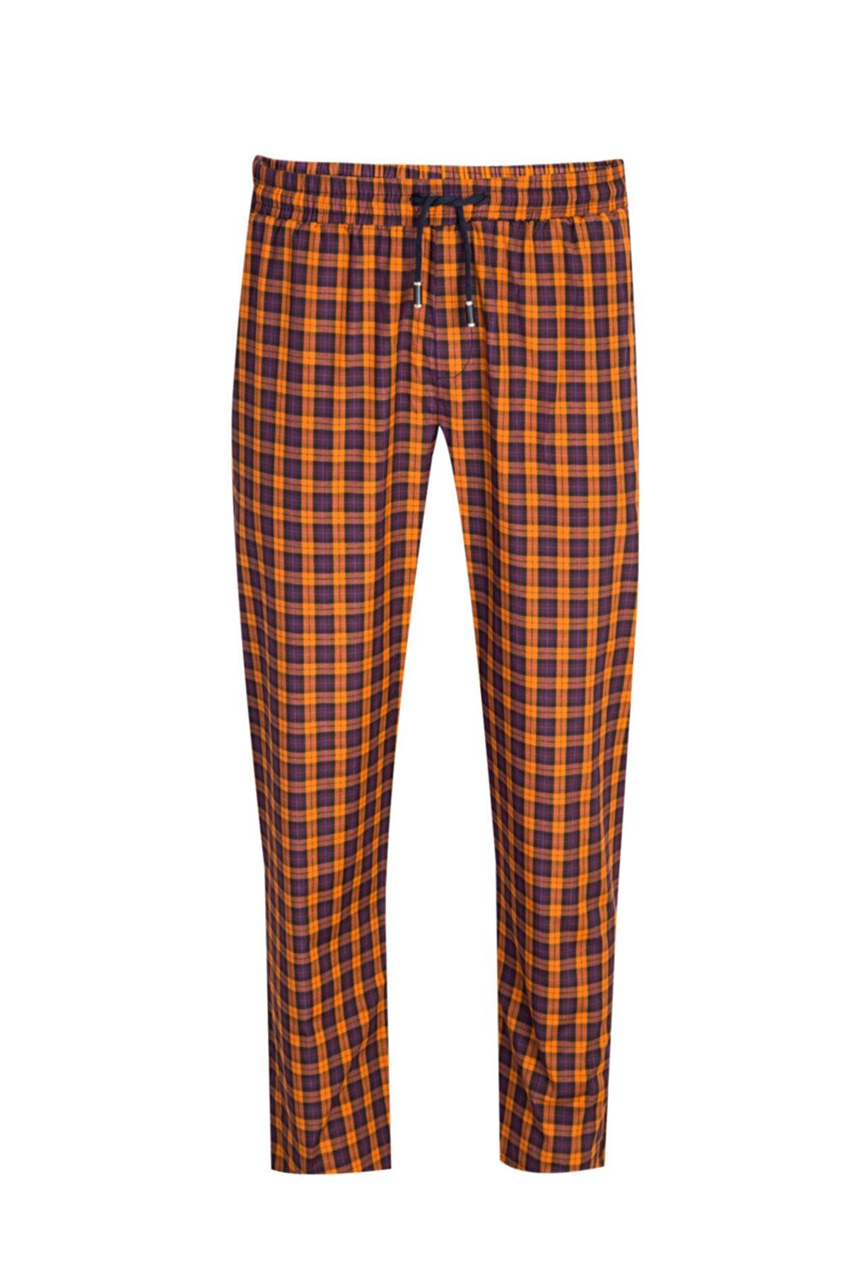 Kiğılı Ekose Pijama Altı