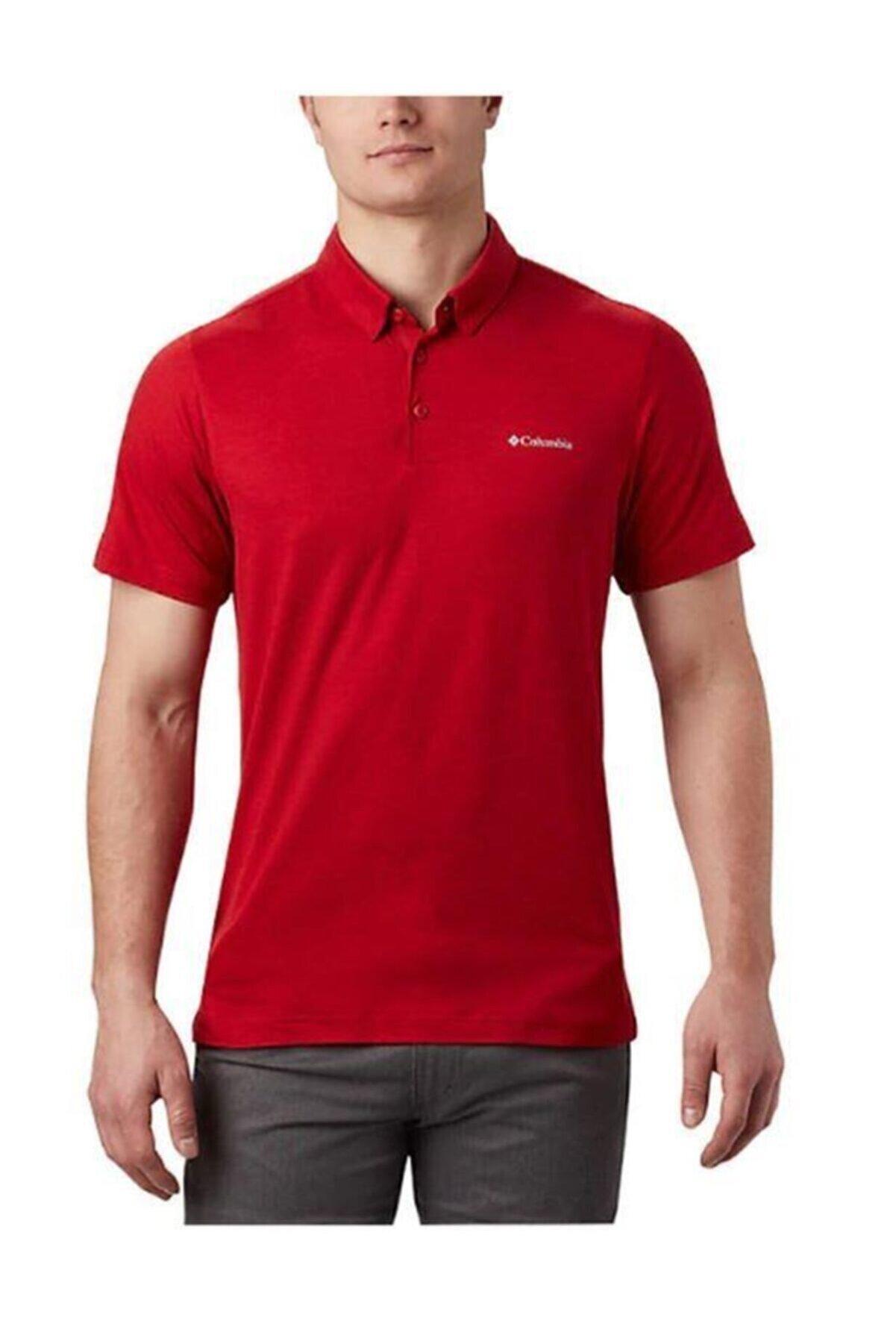 Columbia Tech Trail Erkek Polo T-shirt