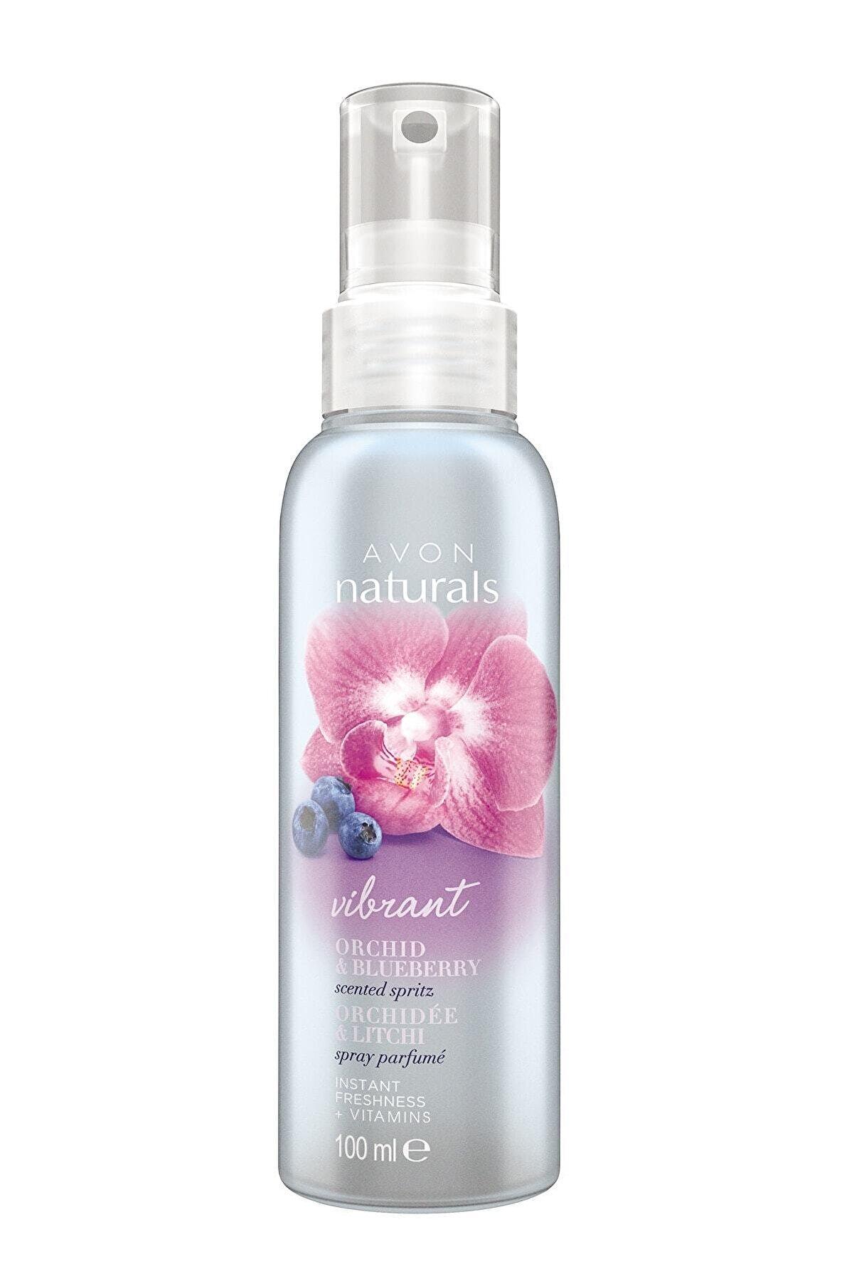 Avon Naturals Orkide ve Yaban Mersini Kokulu Vücut Spreyi - 100ml