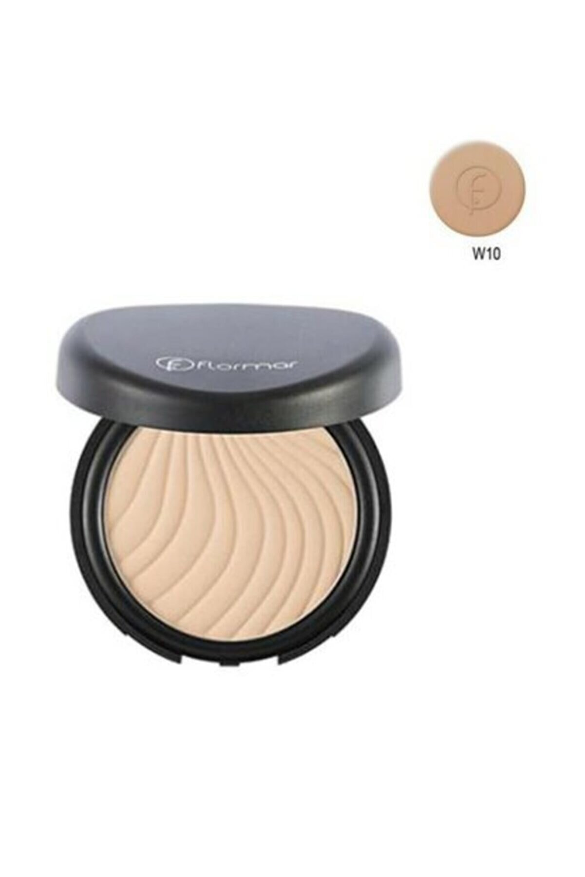 Flormar Pudra - Wet & Dry Compact Powder Apricot W10 8690604134274