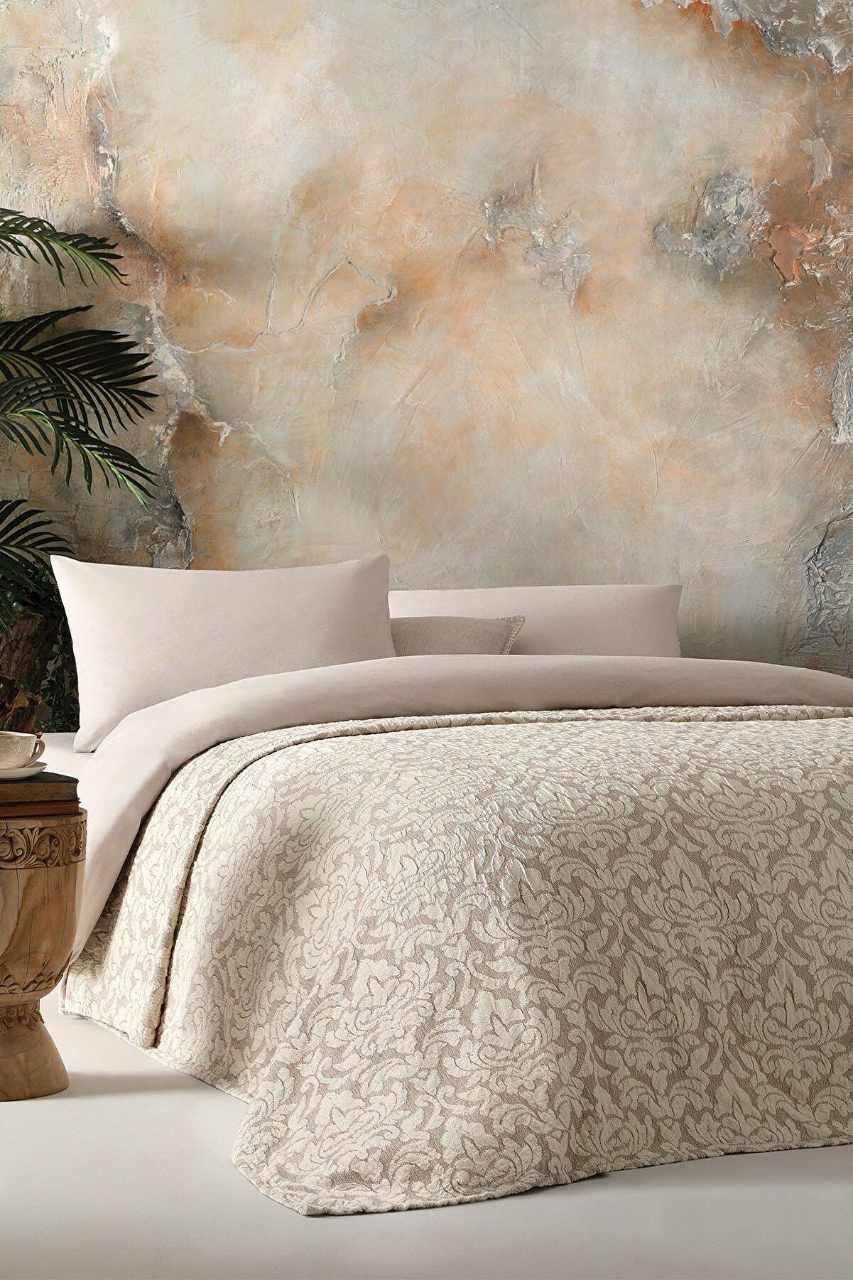Yataş Lino Çift Kişilik Yatak Örtüsü
