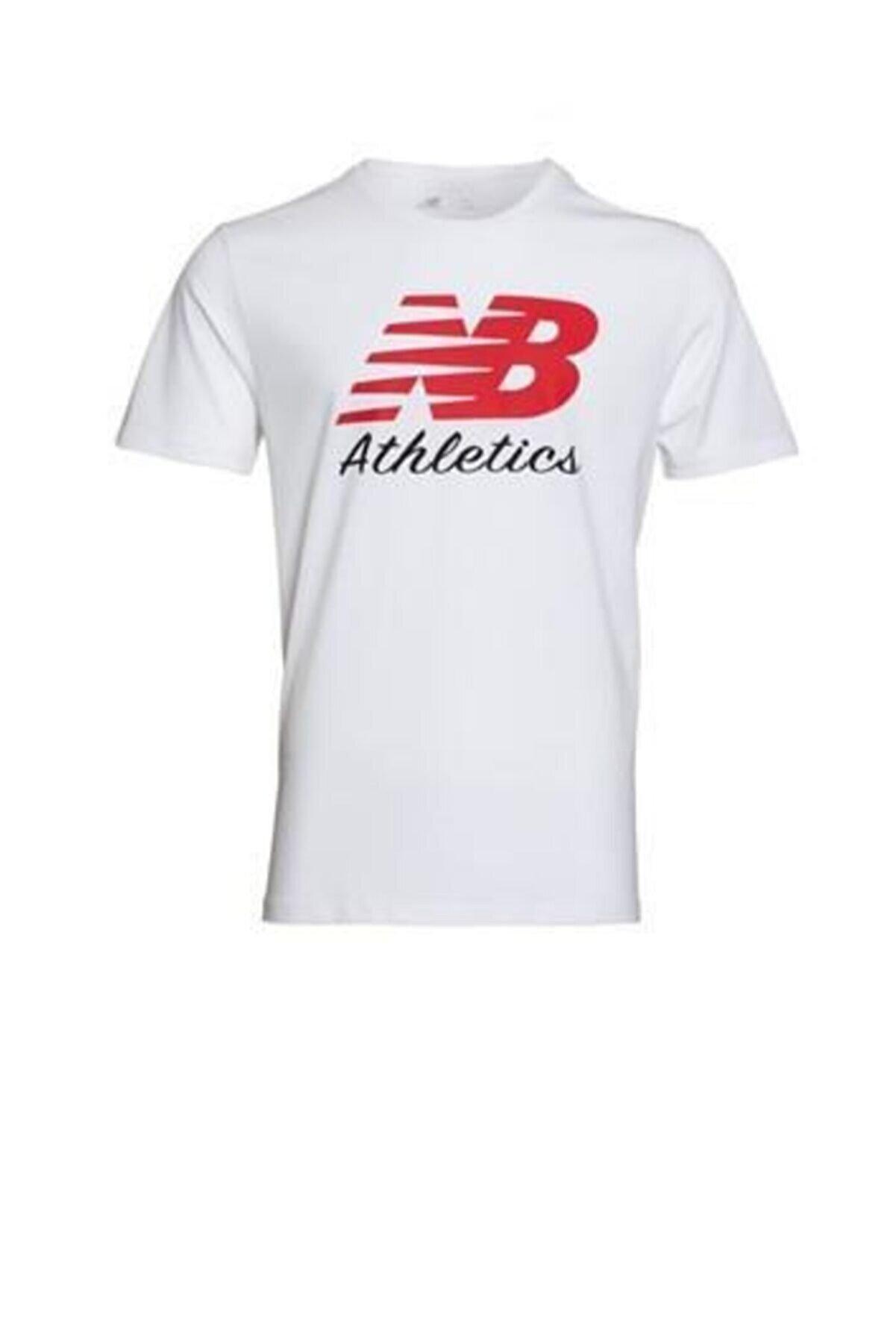 New Balance Athletics Mens Tee Mps002