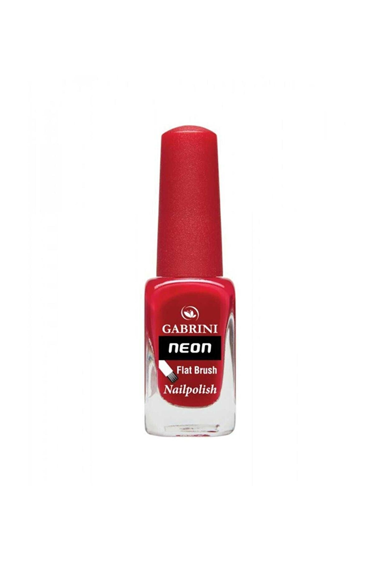 Gabrini Neon Oje - Flat Brush 11 Bordo 6 ml