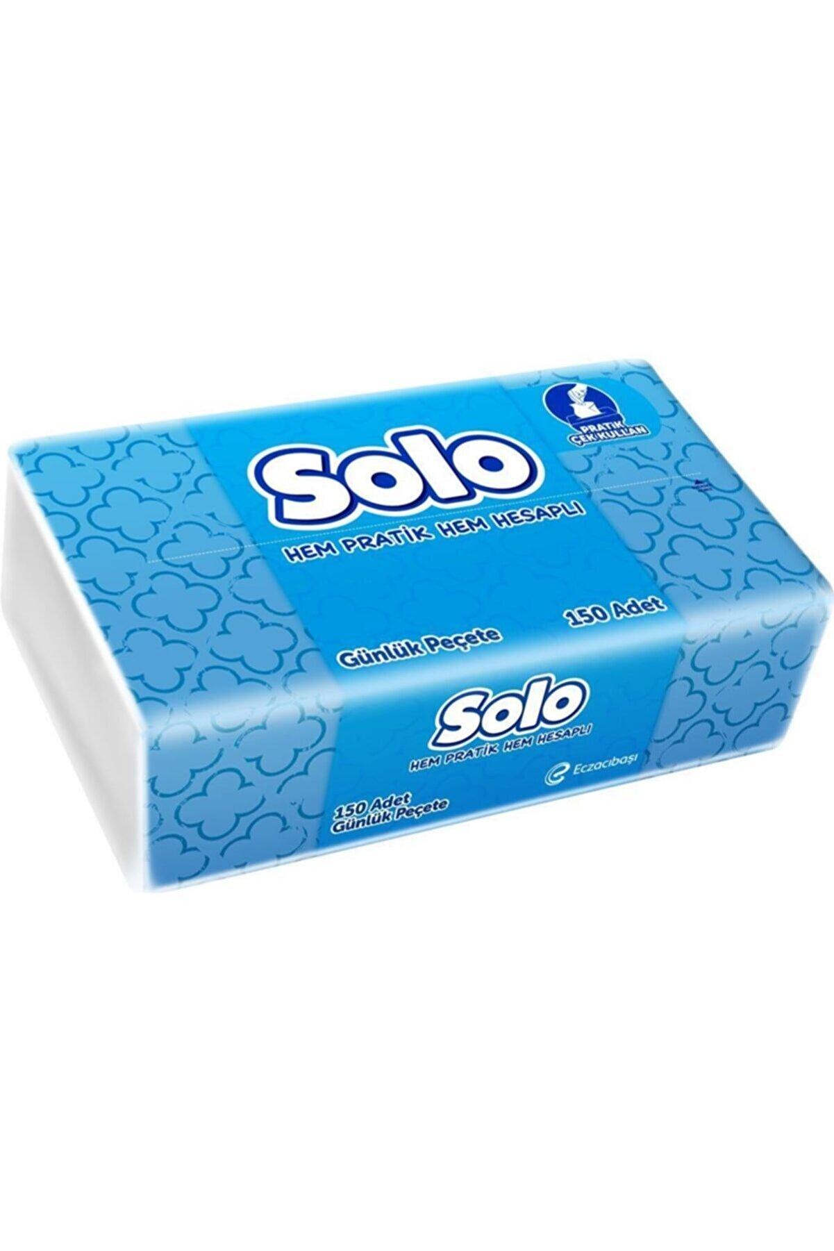 Solo Günlük Peçete 150 Li Pratik Çek Kullan