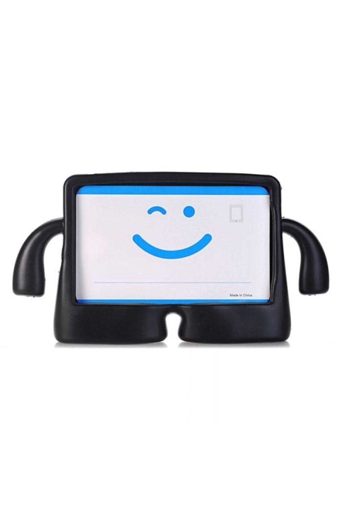 Samsung Nihcase Galaxy Tab S6 Lite P610 Kılıf Ibuy Standlı Silikon Siyah