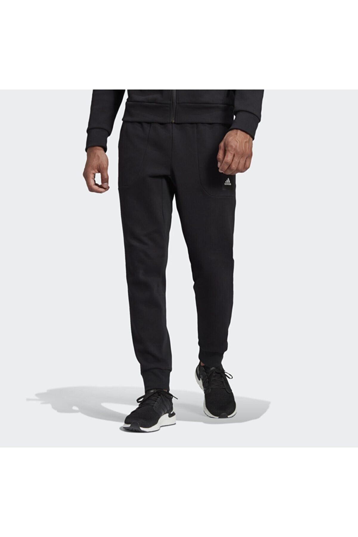 adidas Erkek Siyah Mhs Pant Sta  Eşofman Altı