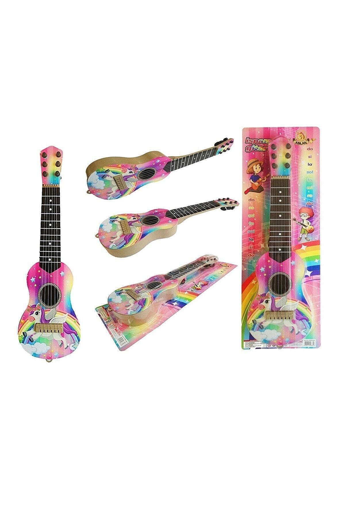 Brother Toys Pembe Oyuncak 6 Telli Kartela Ispanyol Gitar