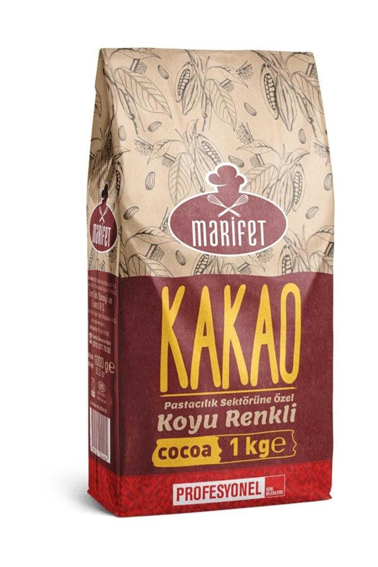 Marifet Alkalize Toz Kakao 1 kg