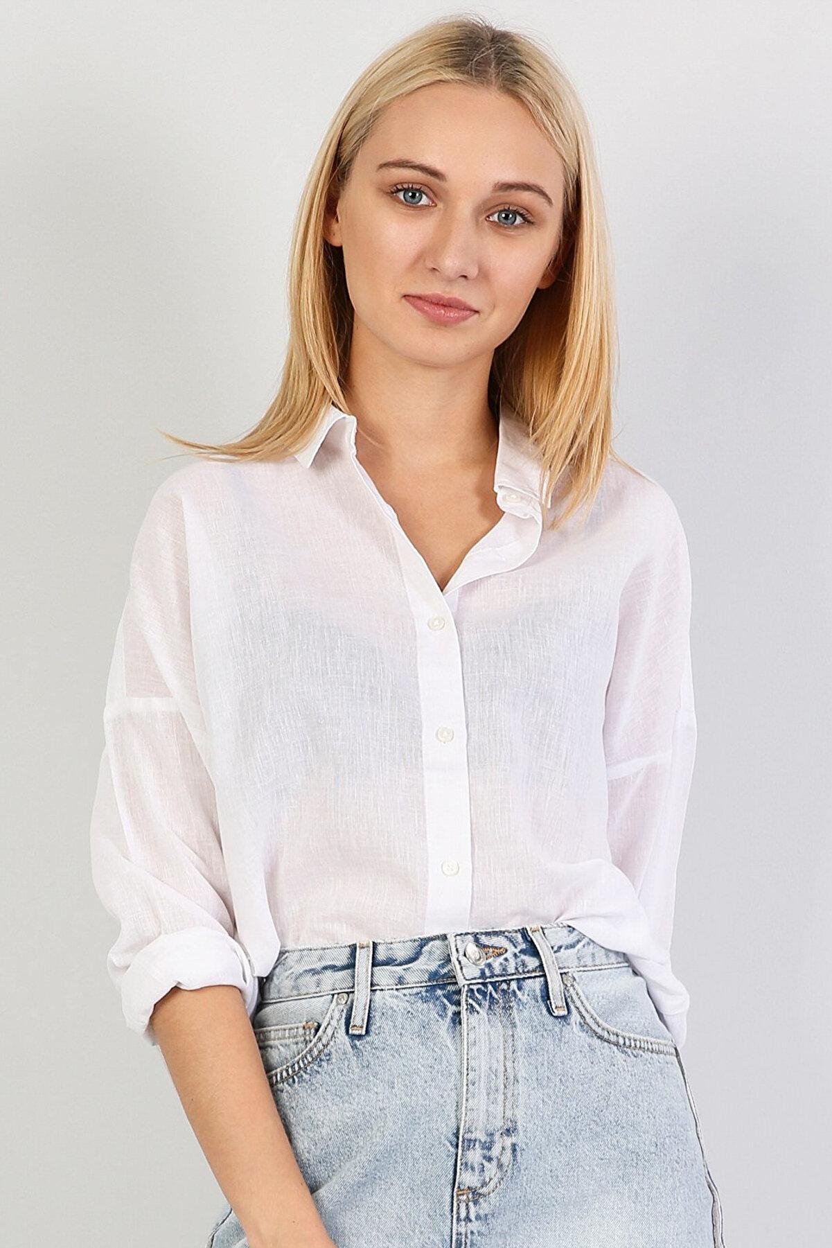 Colin's Kadın Gömlek U.kol CL1042552