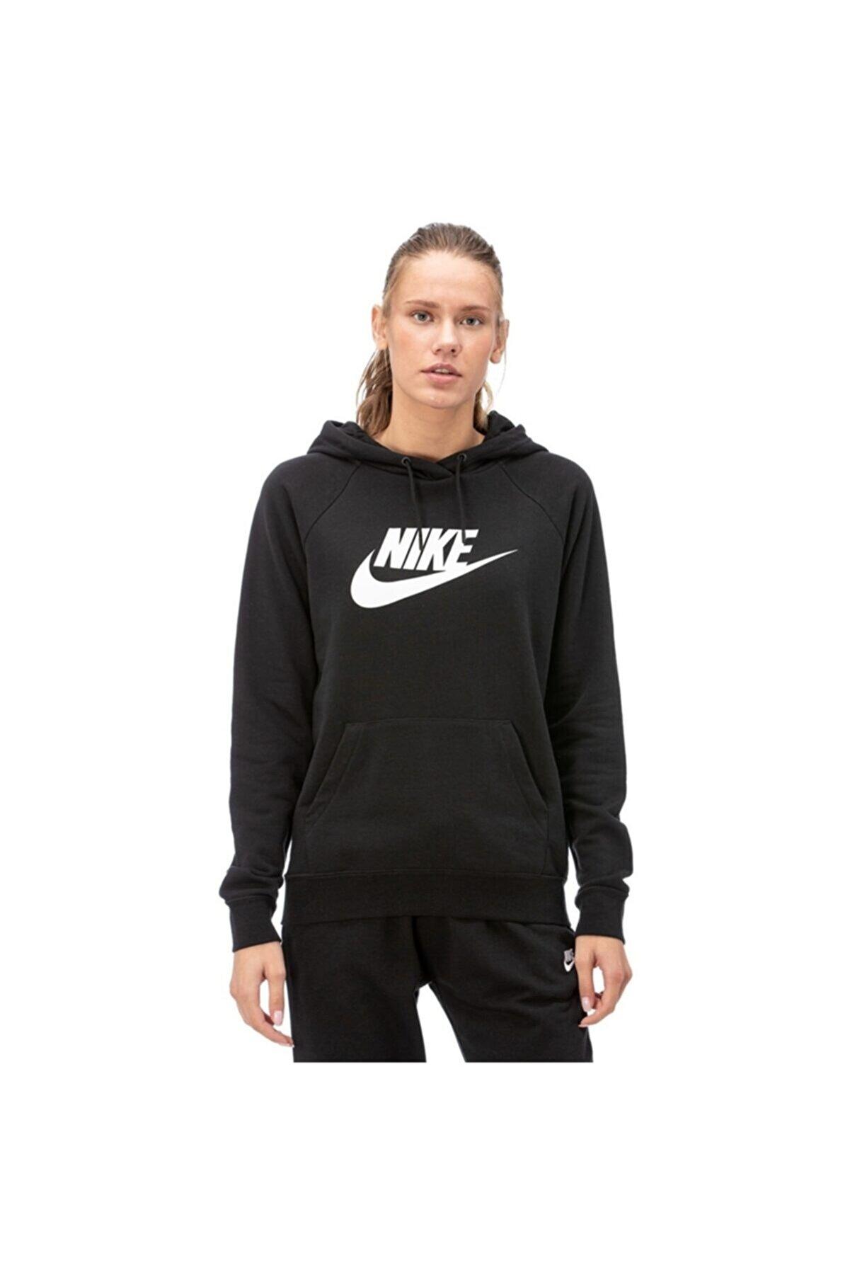 Nike W Nsw Essntl Hoodıe Po Hbr