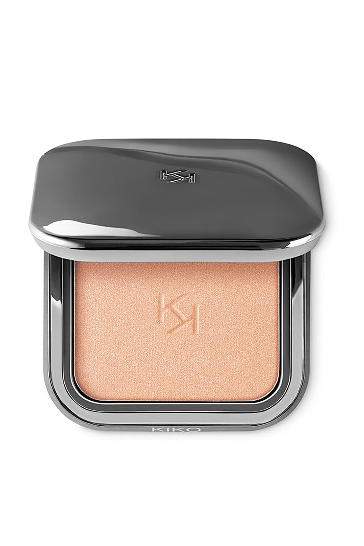 KIKO Aydınlatıcı Pudra - Glow Fusion Powder Highlighter 02 Heavenly Gold 8025272633192