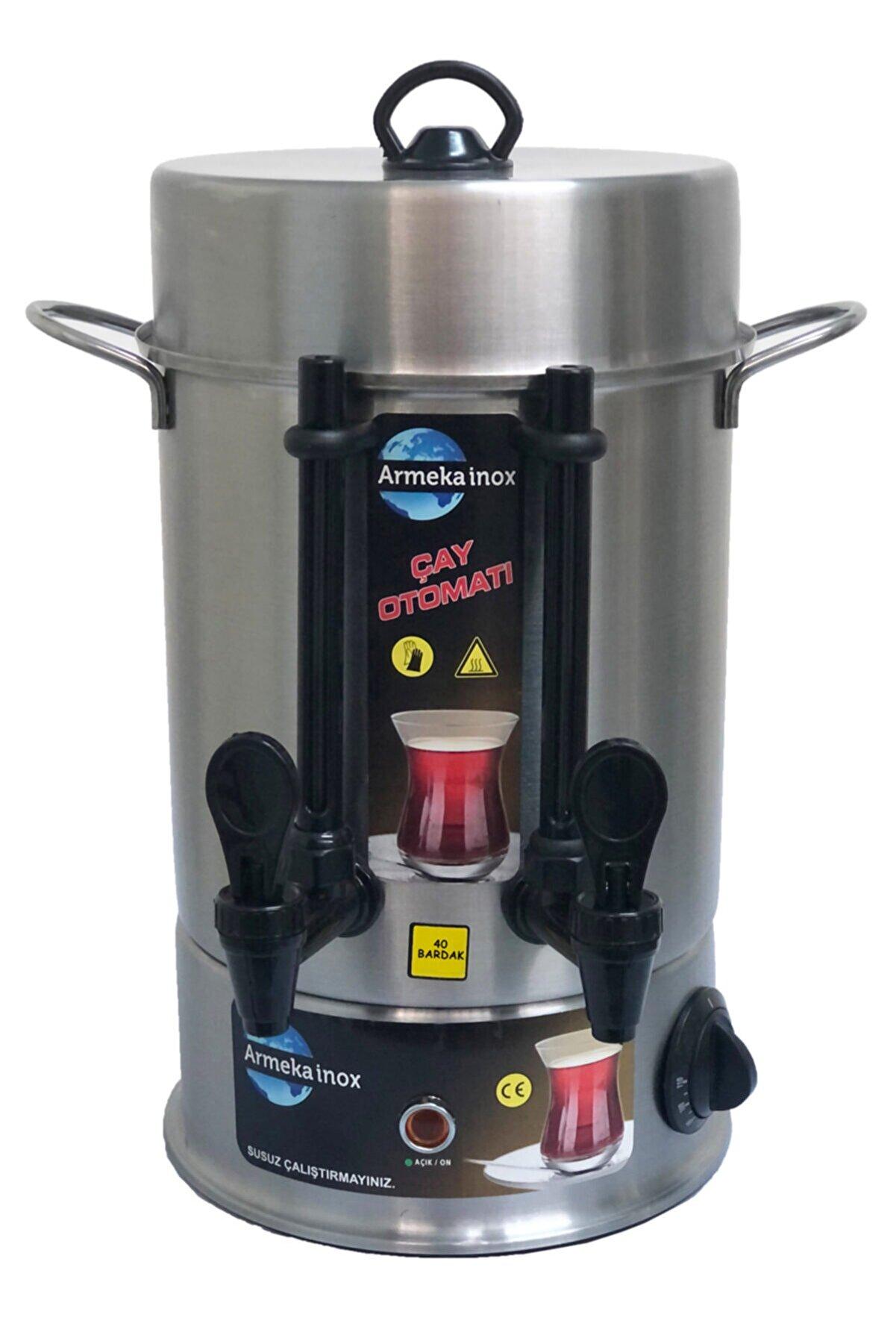 Armeka 40 Bardak Çay Makinesi - Çay Otomatı - Semaver