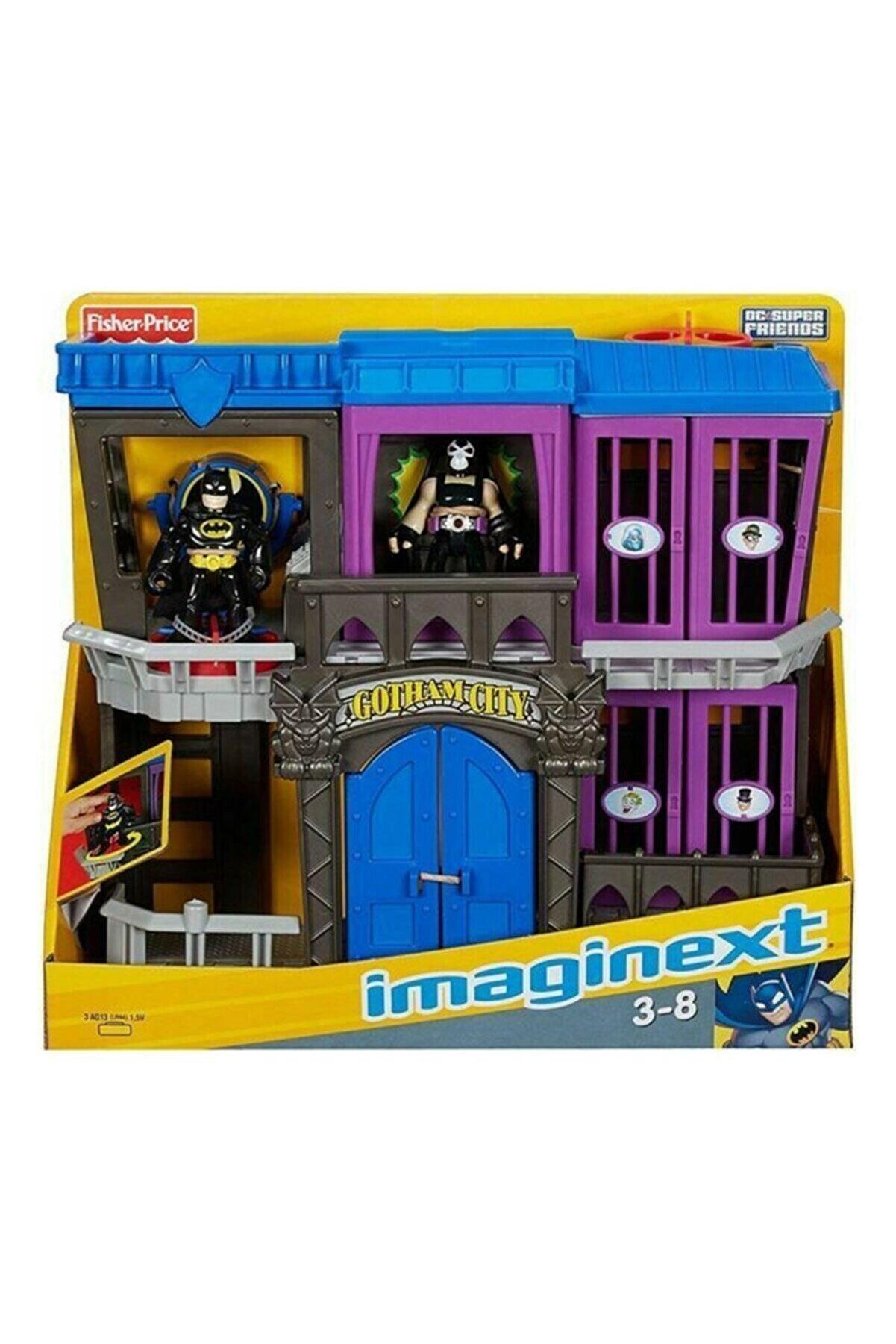 Batman Imaginext Dc Super Friends Gotham Hapishanesi Oyun Seti W9642