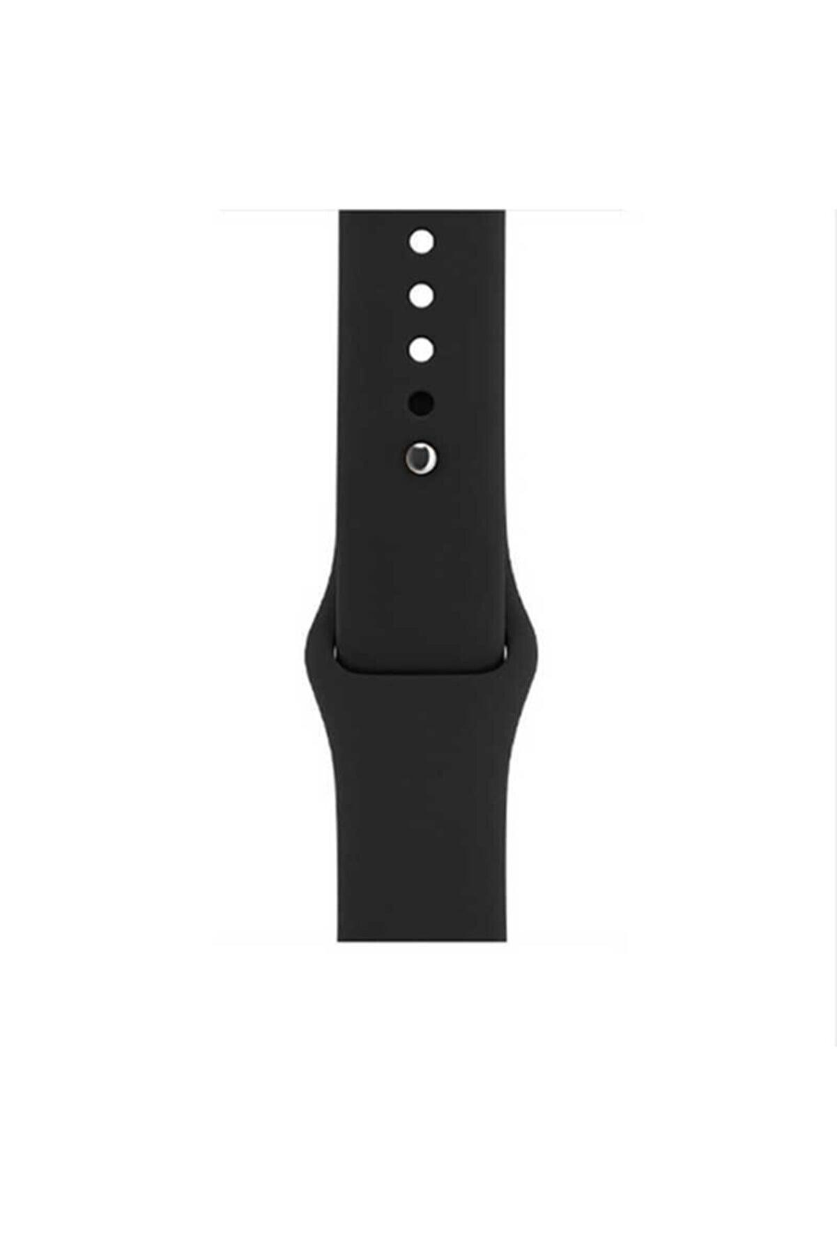 Apple Watch 3 Silikon Kordon Yumuşak Ve Pürüzsüz 42mm Klasik