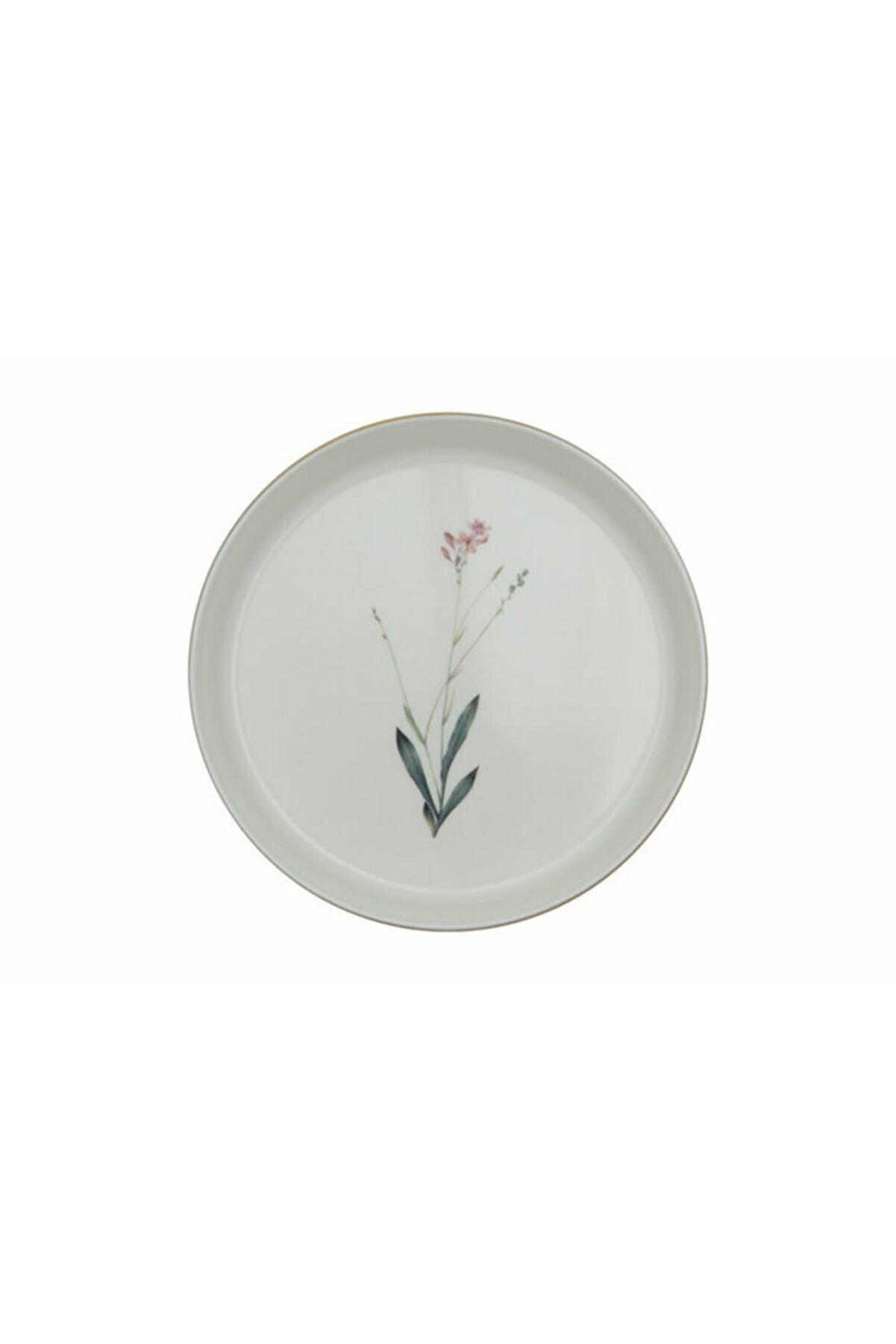 Porland Botanical Desen Çukur Tabak 4'Lü 19 Cm