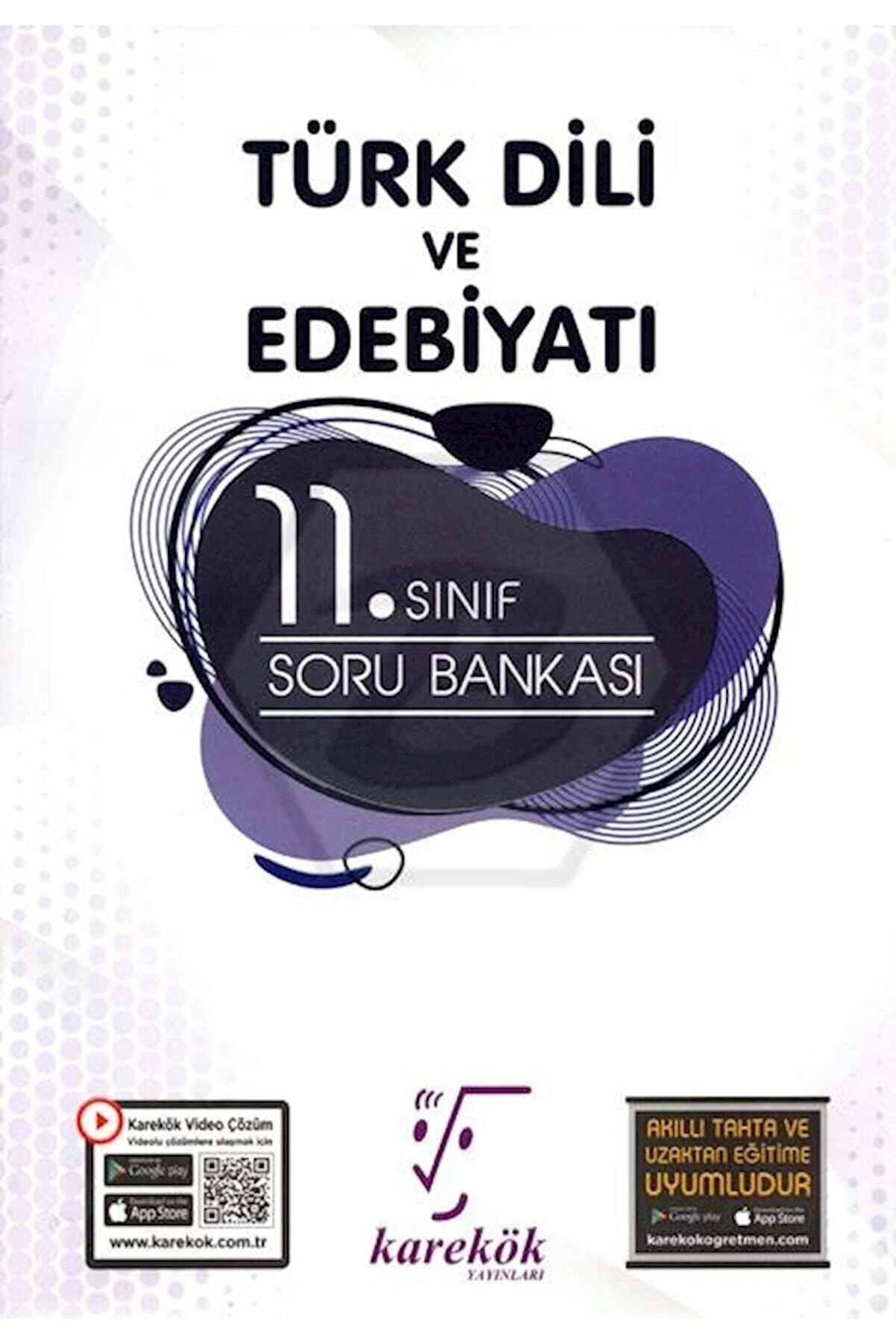 Karekök Yayınları Karekök 11.sınıf Türk Dili Ve Edebiyatı Soru Bankası
