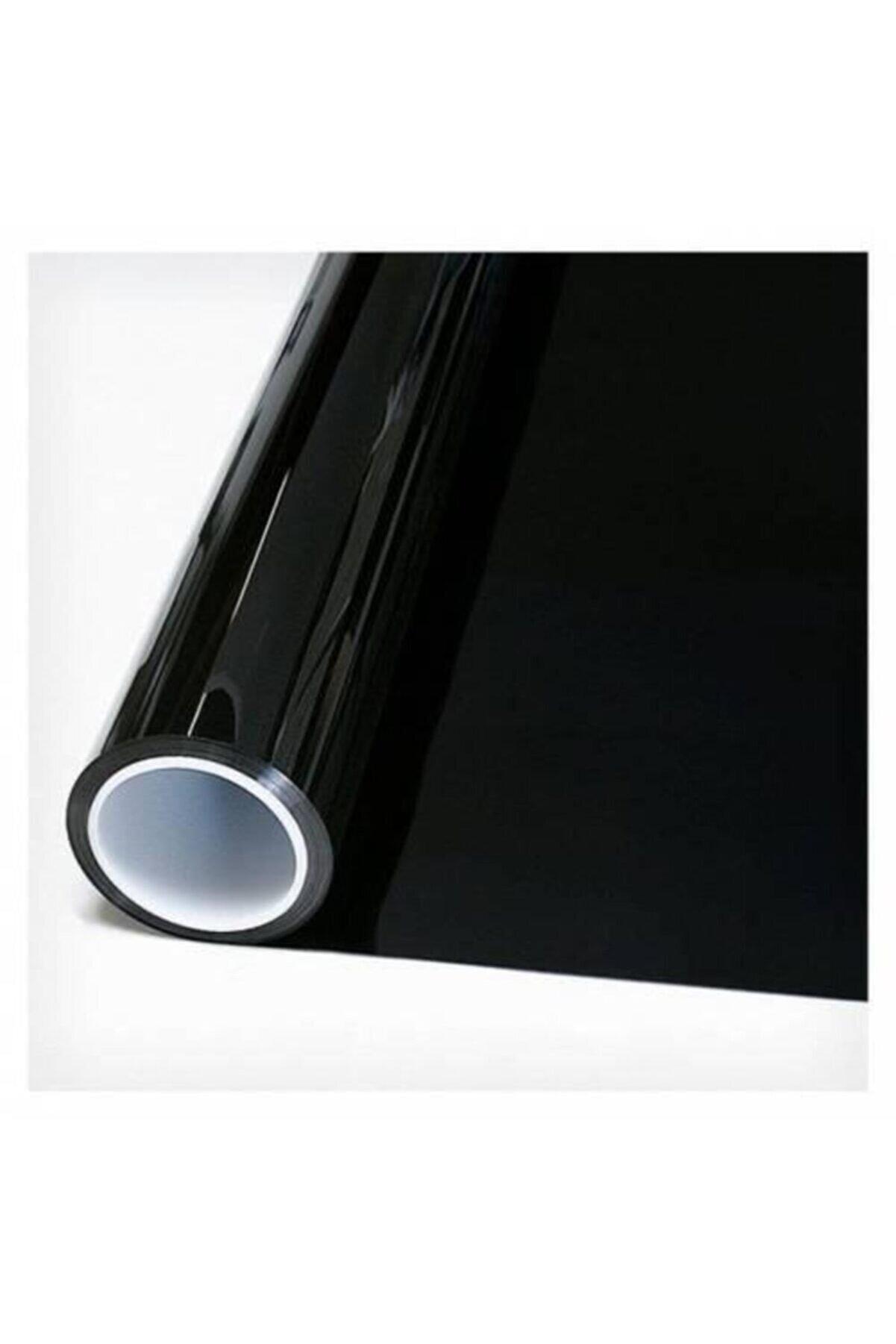 AUTOFOLYO Cam Filmi Siyah Çizilmez Koyu Ton-100 Cm-5 Metre