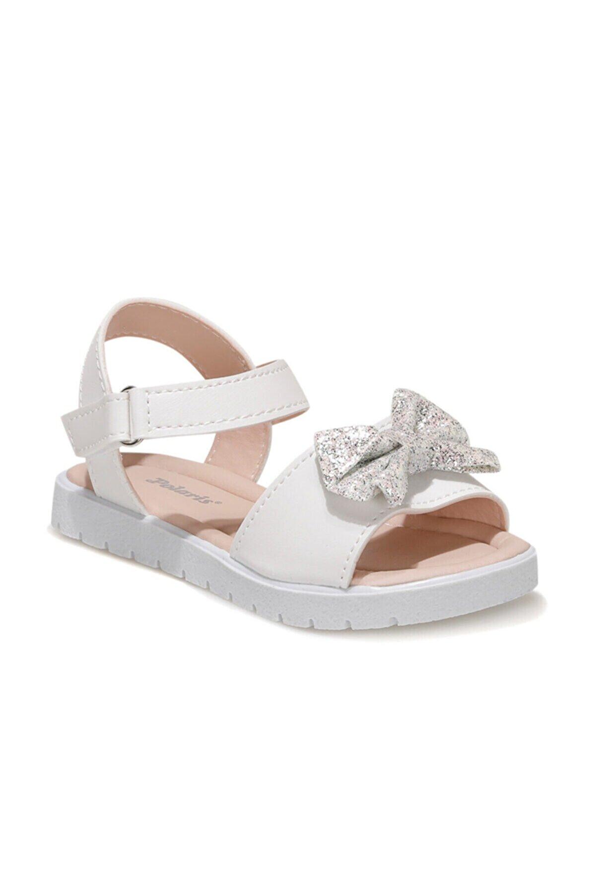 Polaris 615236.P1FX Beyaz Kız Çocuk Sandalet 101011143