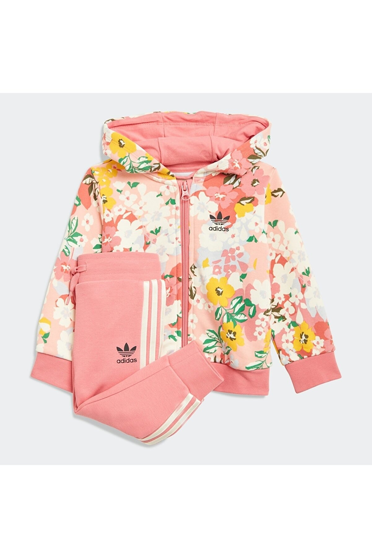 adidas Kız Eşofman Altı HOODIE SET FZ GN2257