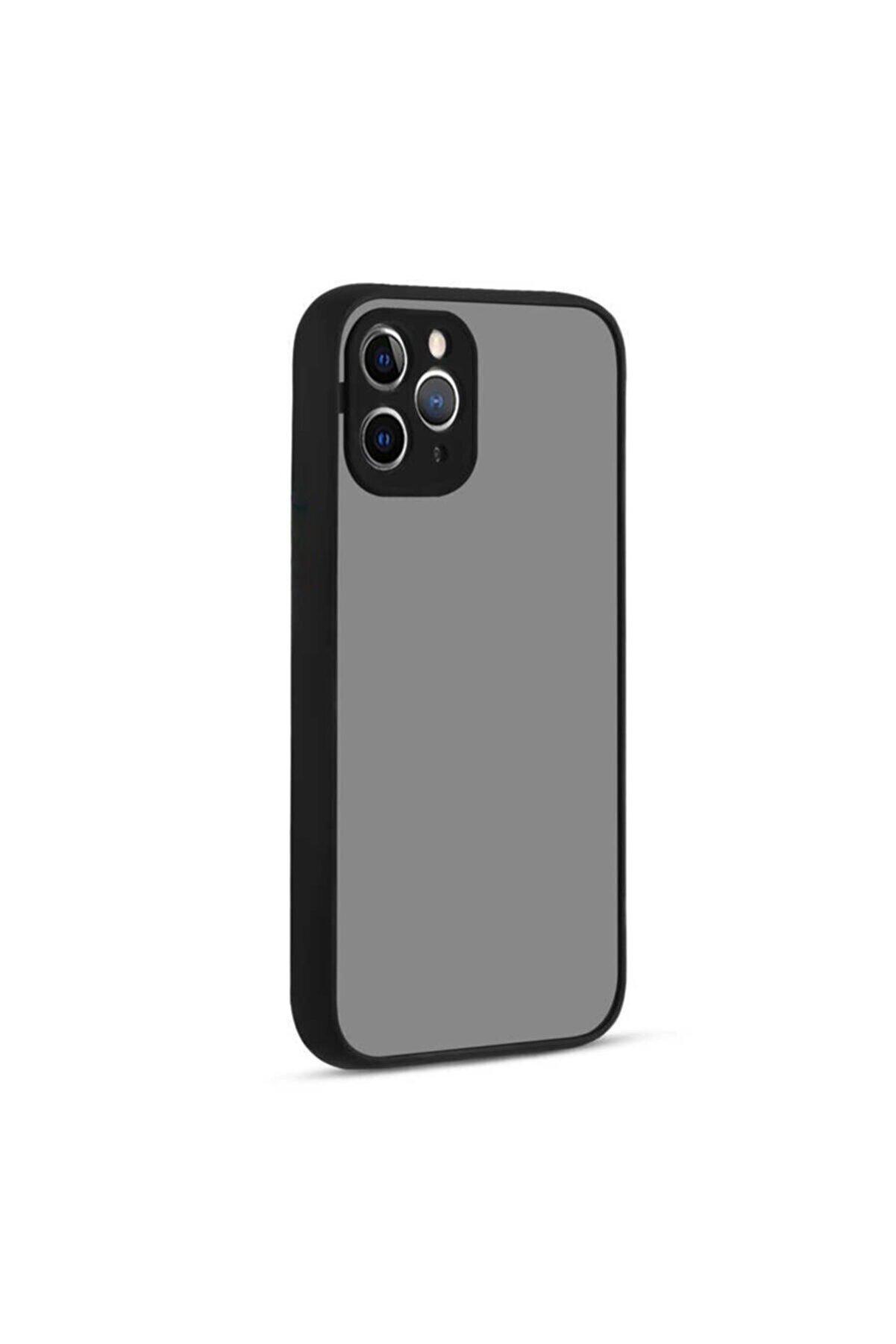 Beyza Gsm Iphone 11 Pro Yanları Yumuşak Siyah Silikon Kılıf