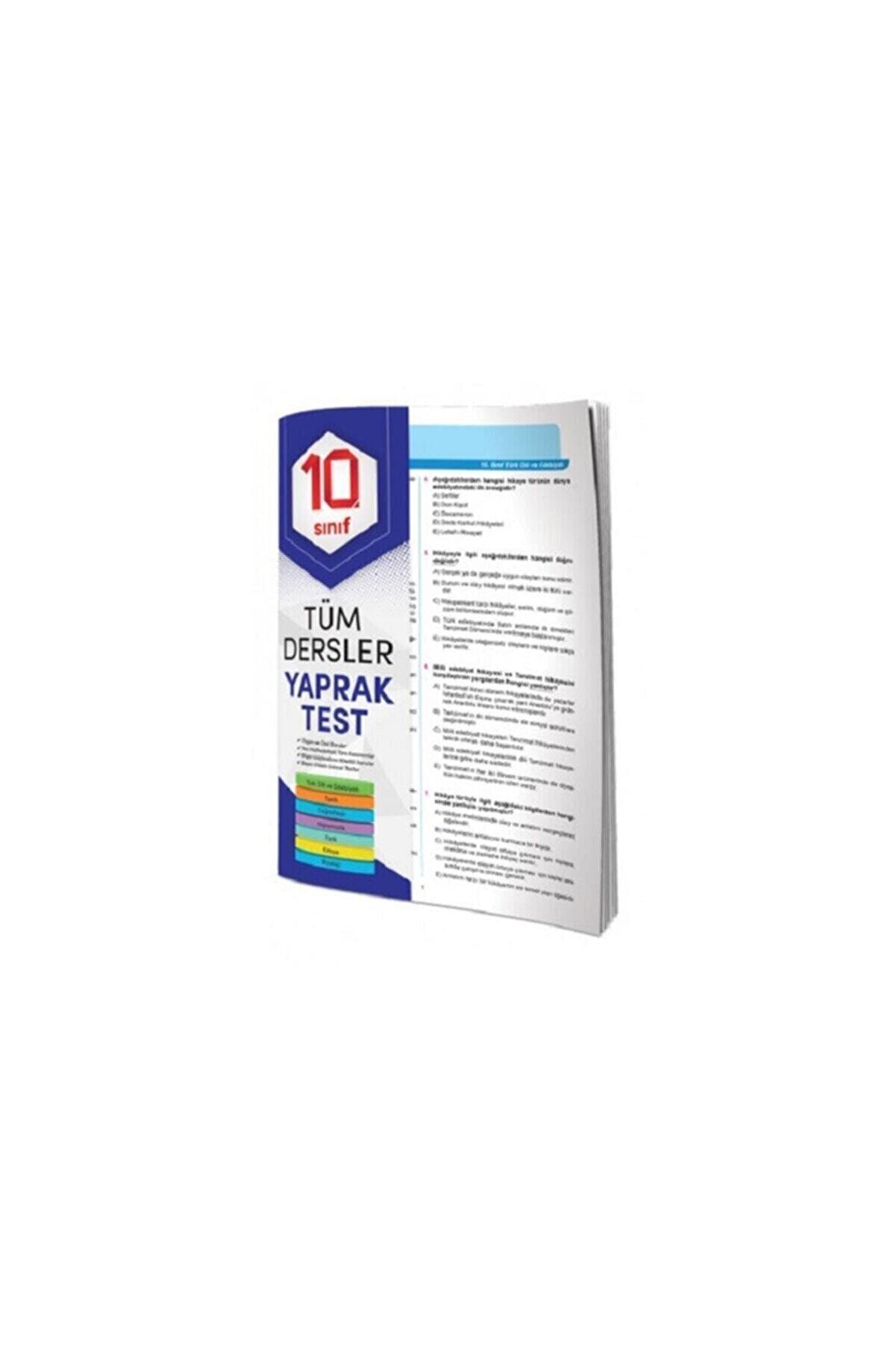 Element Yayınları 10. Sınıf Tüm Dersler Yaprak Test