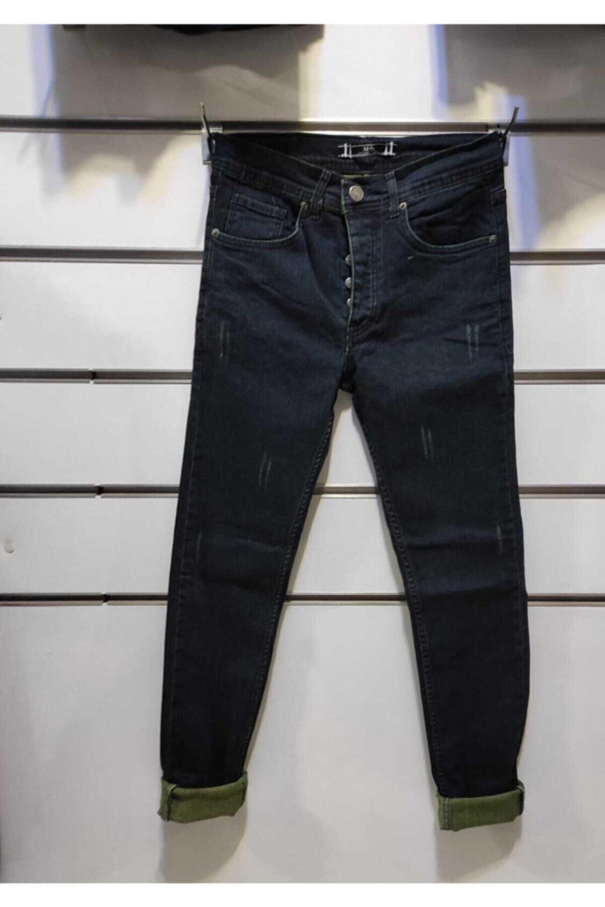 BİG MARTEN Erkek Lacivert Düz Jeans